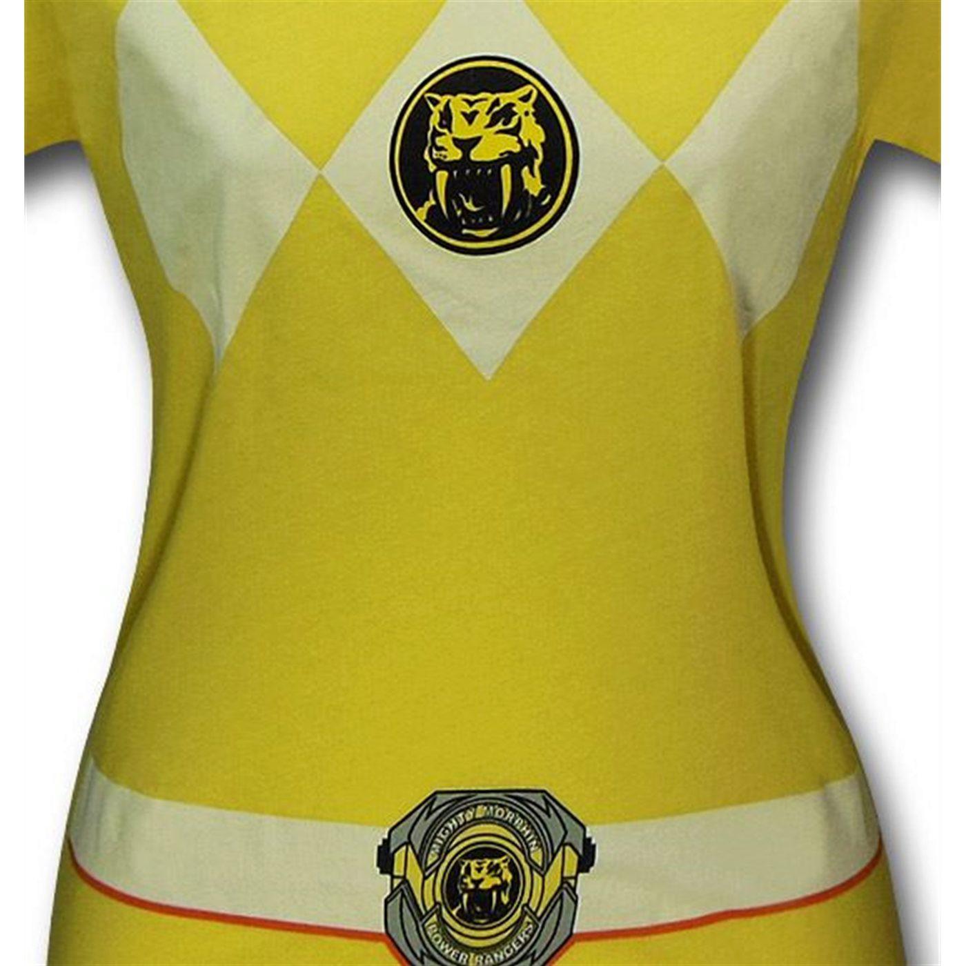 Power Rangers Yellow Ranger Women's T-Shirt