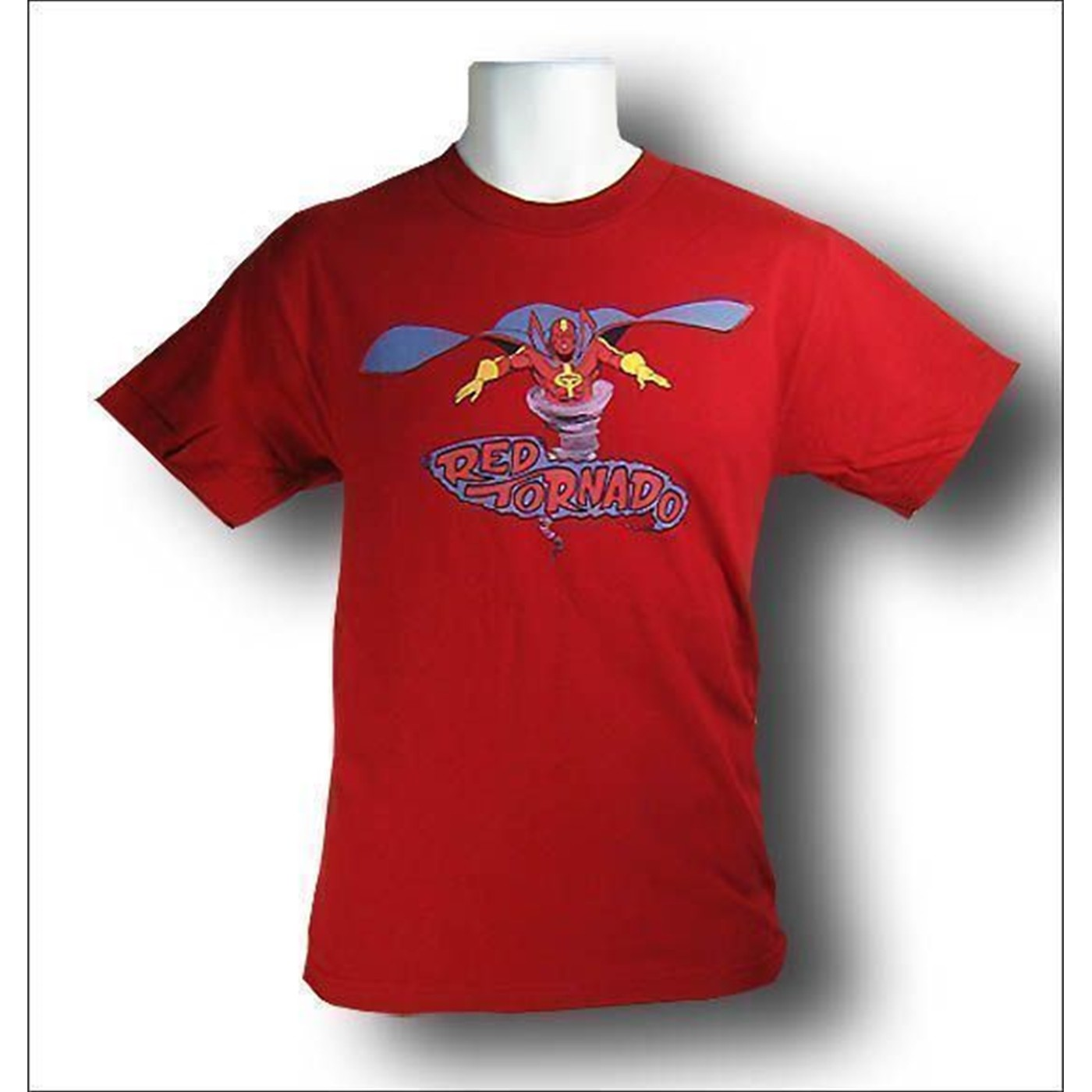 Red Tornado Retro T-Shirt