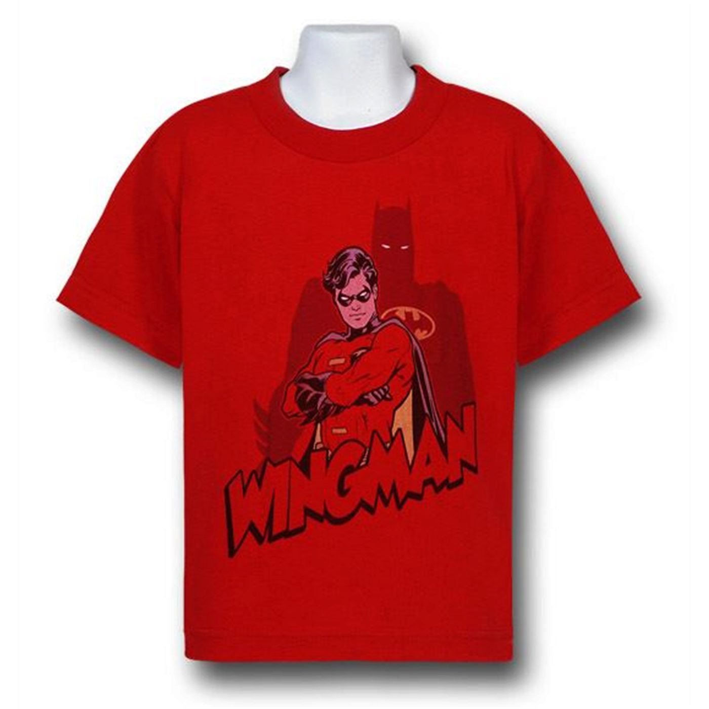 Robin is Batman's Wingman Kids T-Shirt