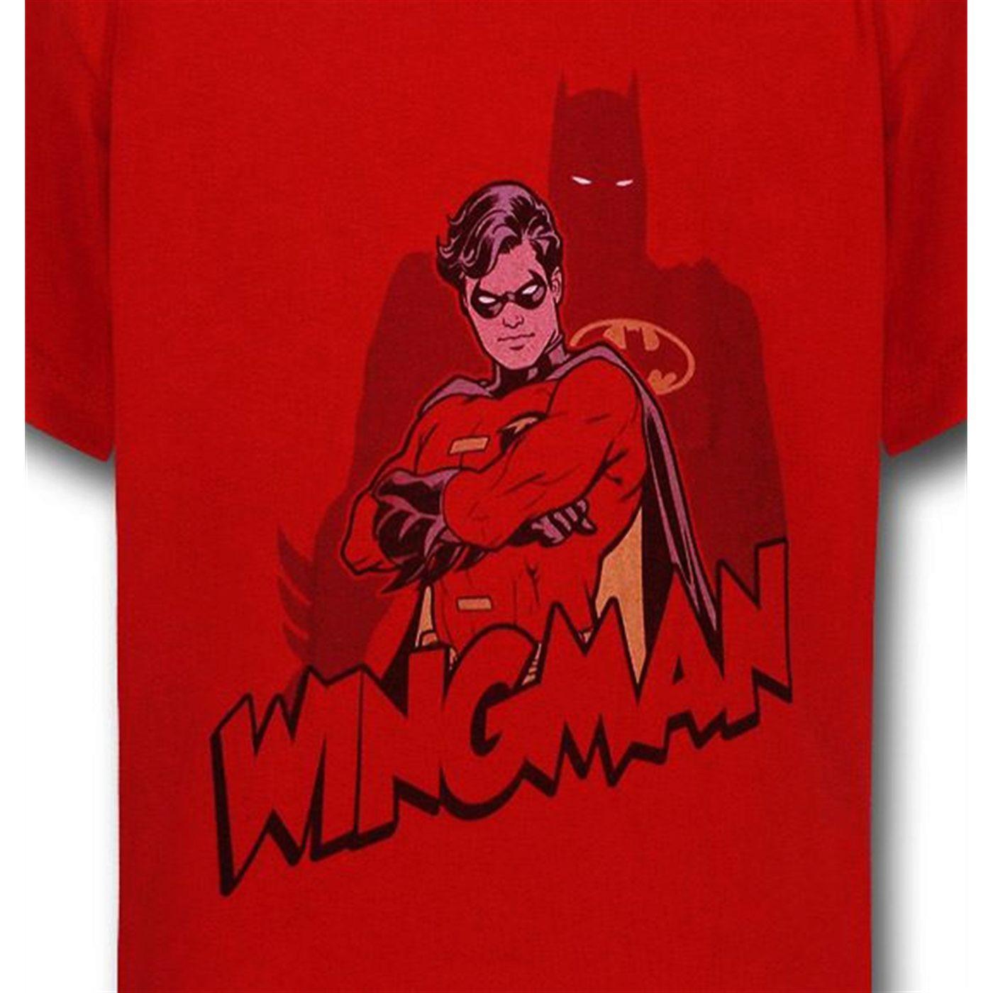 Robin is Batman's Wingman Kids T-Shirt
