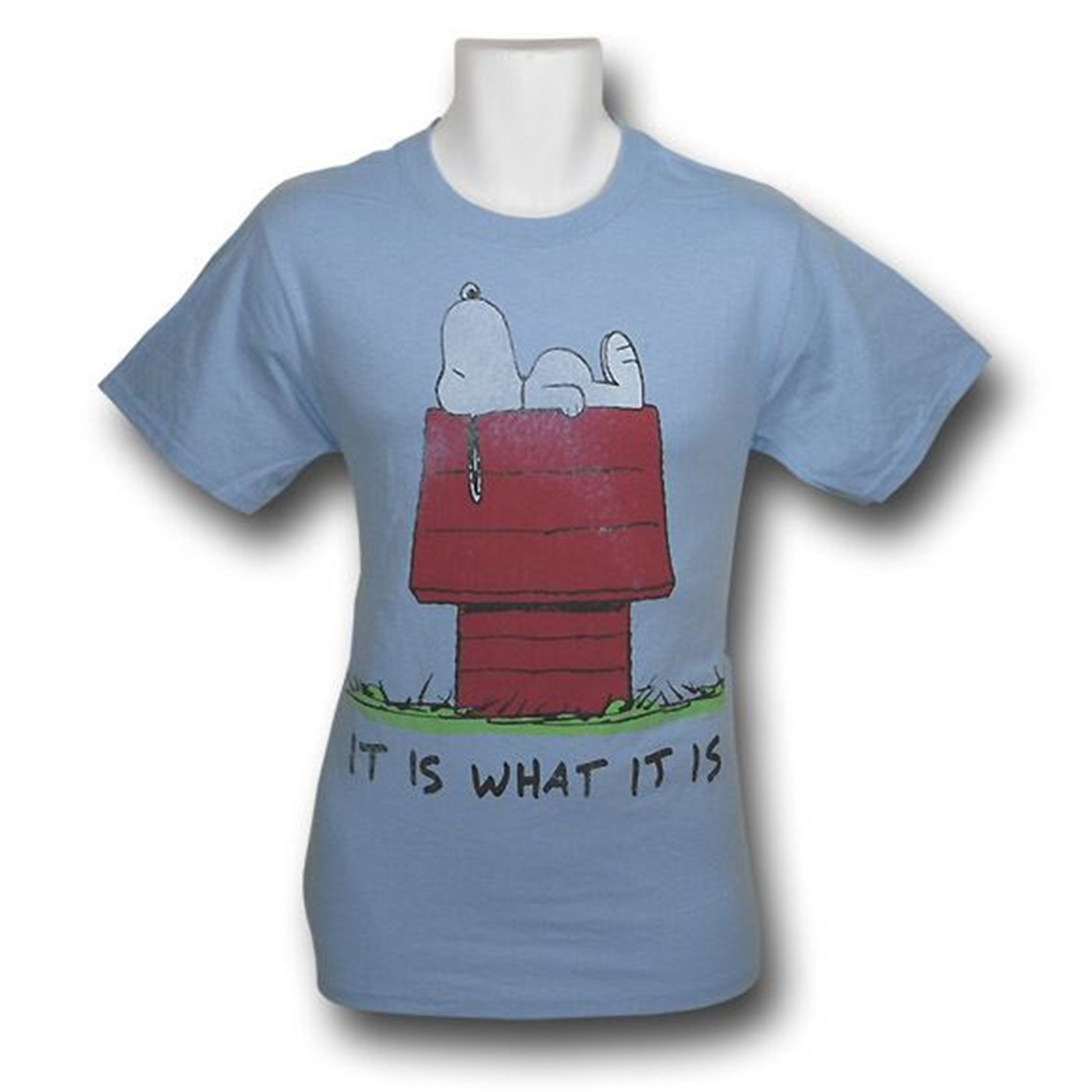 Snoopy Distressed It Is T-Shirt