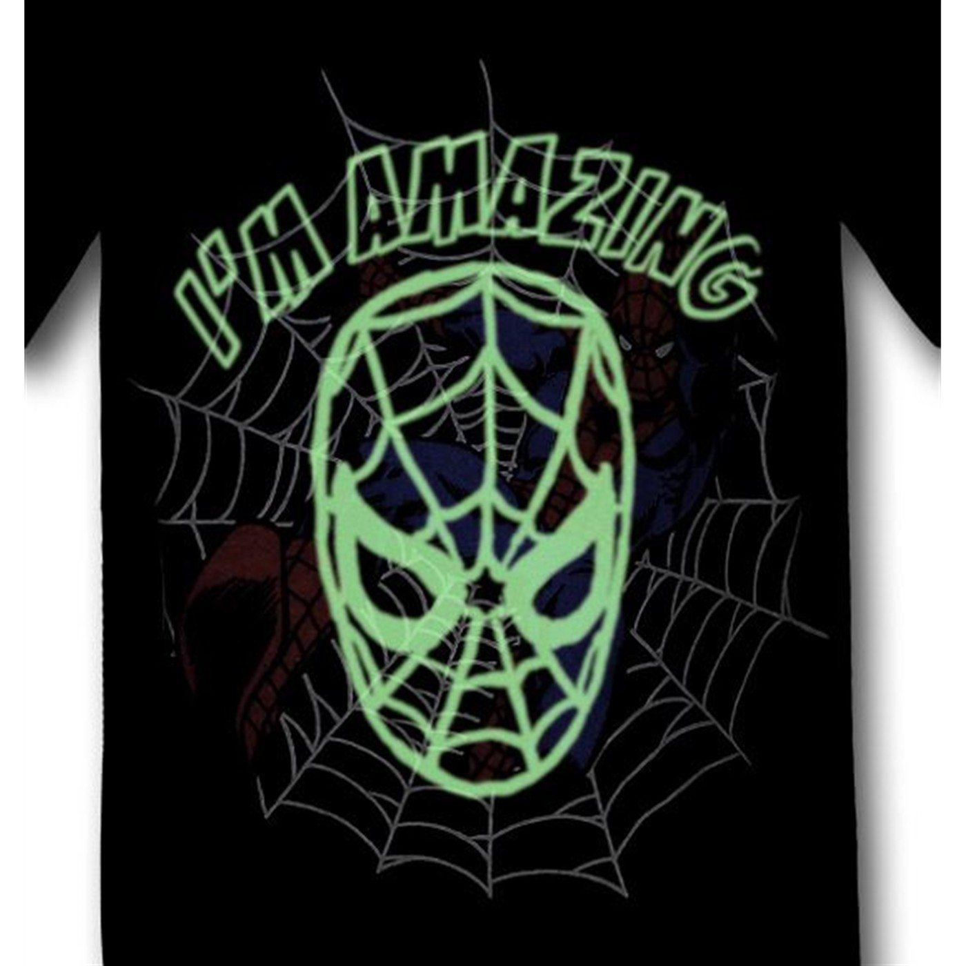 Spiderman Kids Swing Amazing Glow T-Shirt