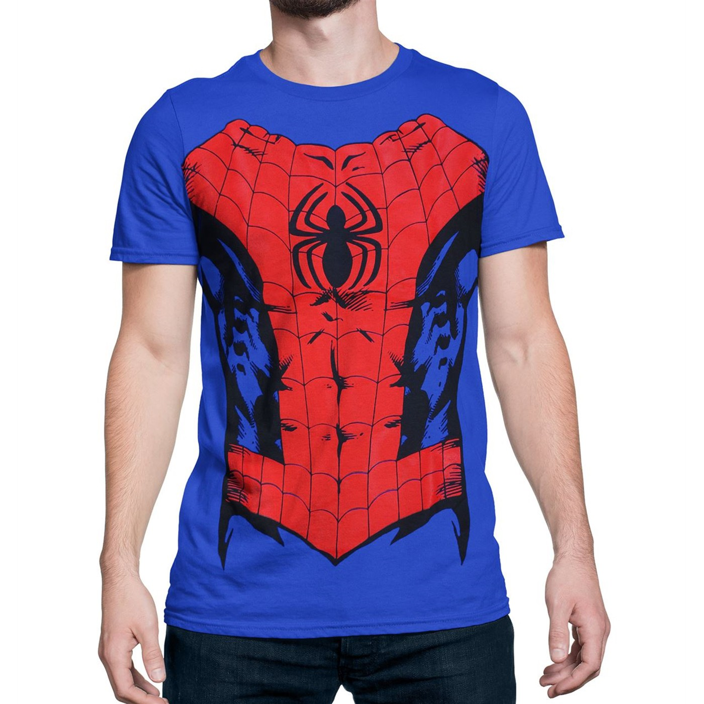 Spider-Man Suit-Up Men's Costume T-Shirt