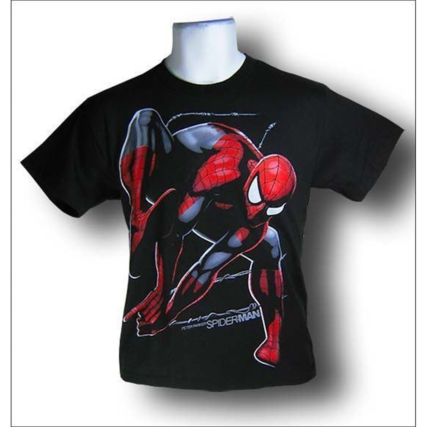 Spiderman Masked Youth Hoodie