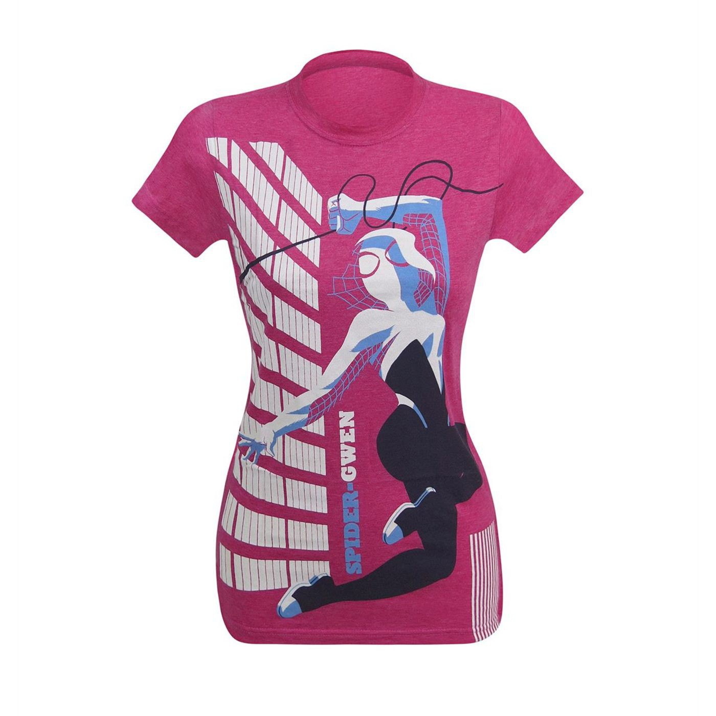 Spider Gwen Swinging Women's T-Shirt