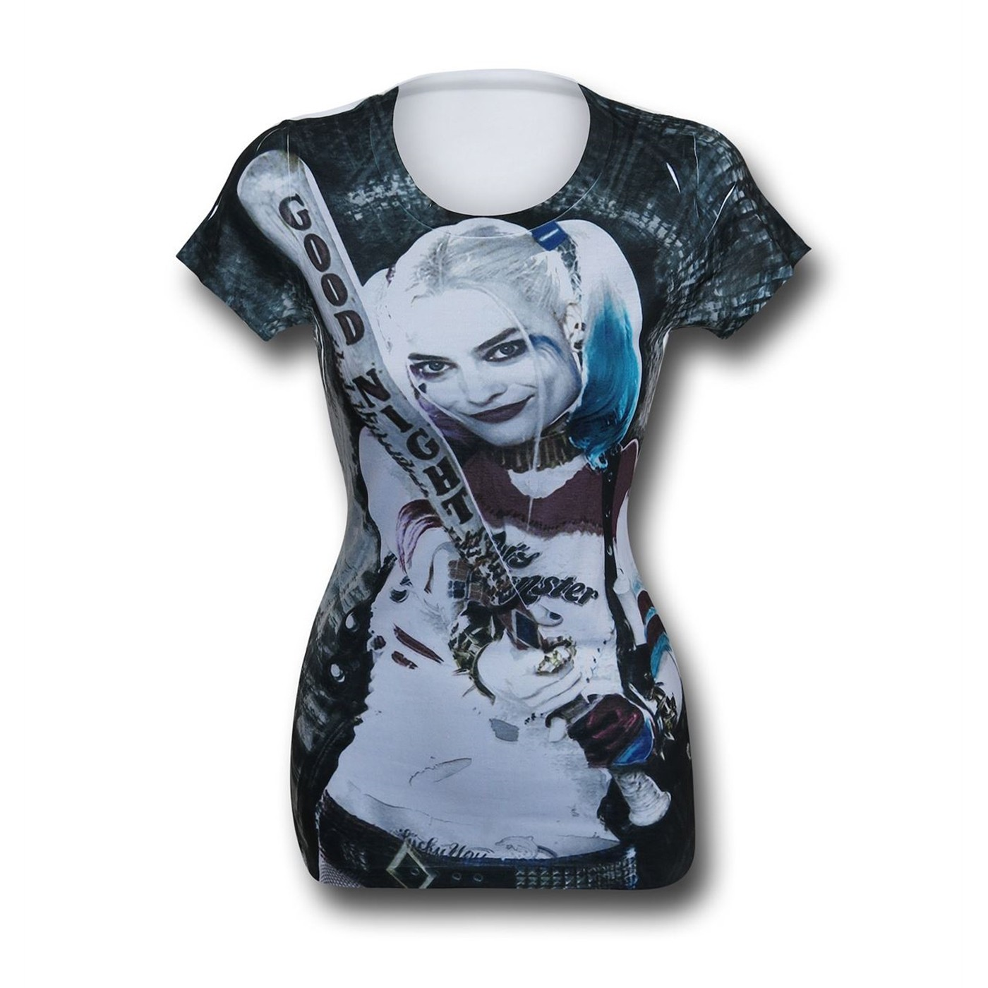 Suicide Squad Harley Quinn Sublimated Women's T-Shirt