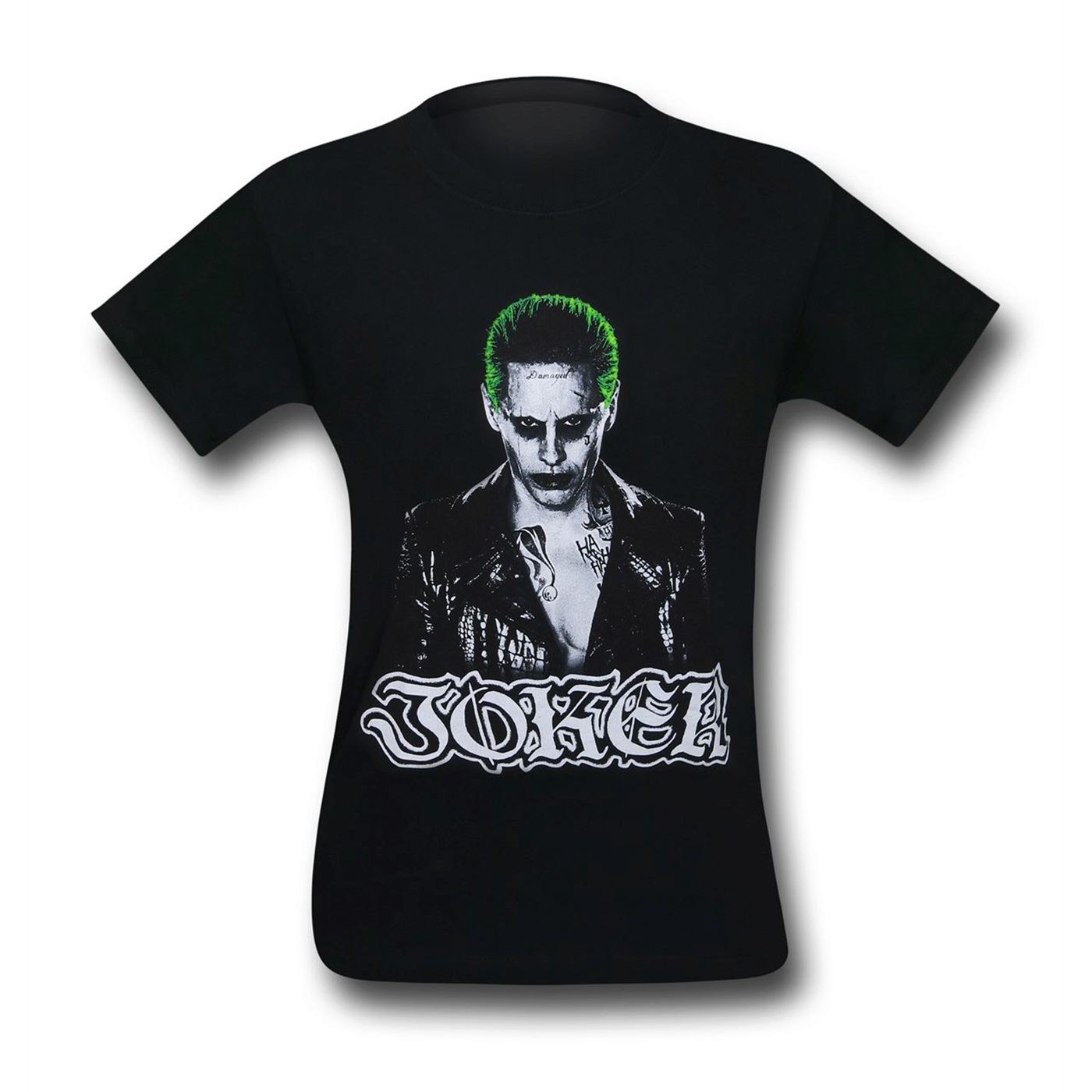 Suicide Squad Joker Image & Logo Men's T-Shirt