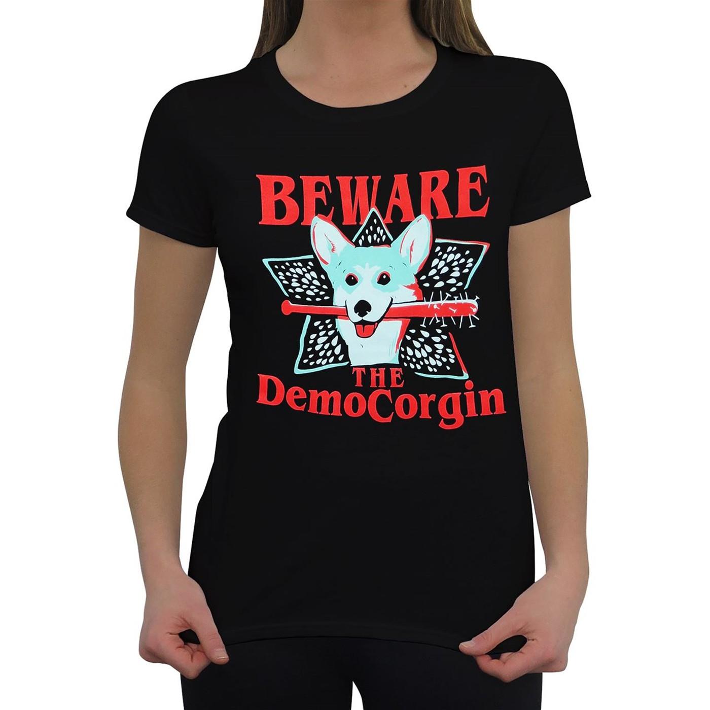 Beware the Democorgin Women's T-Shirt