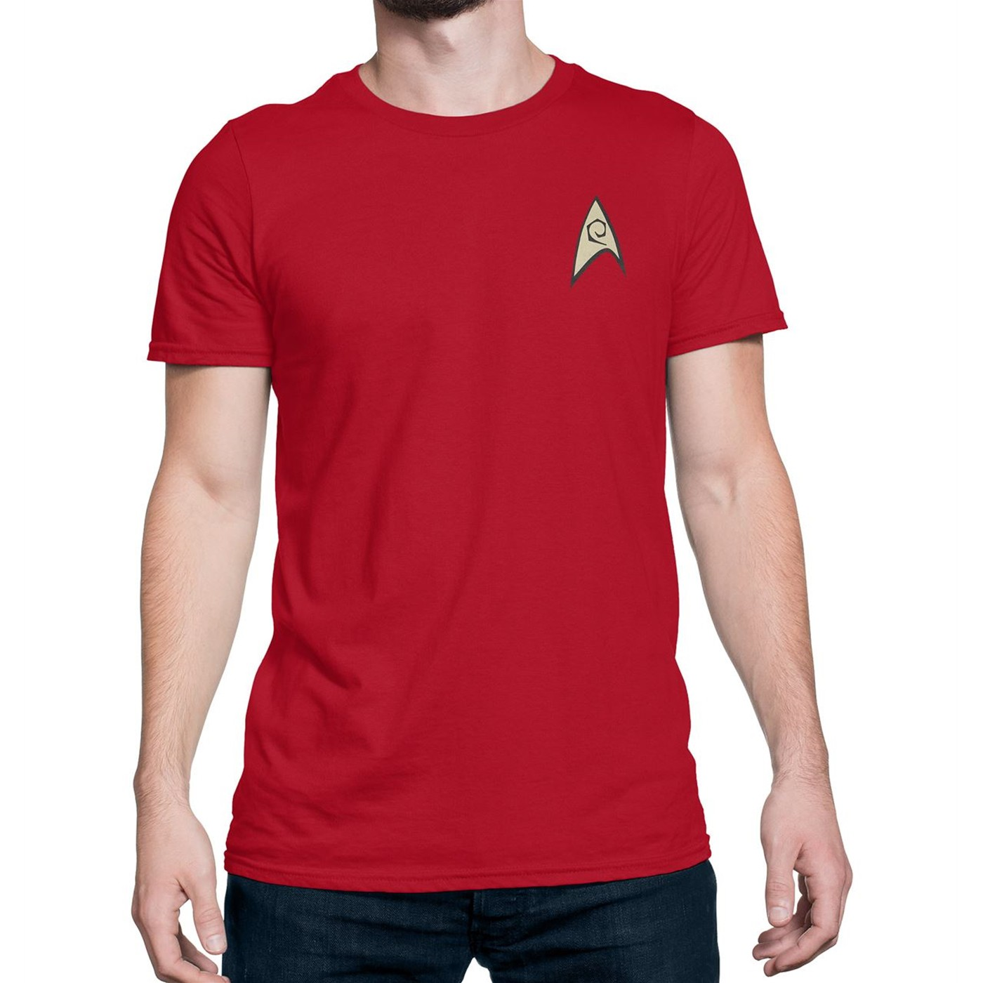 Best Star Trek Engineering Security Uniform T-Shirt