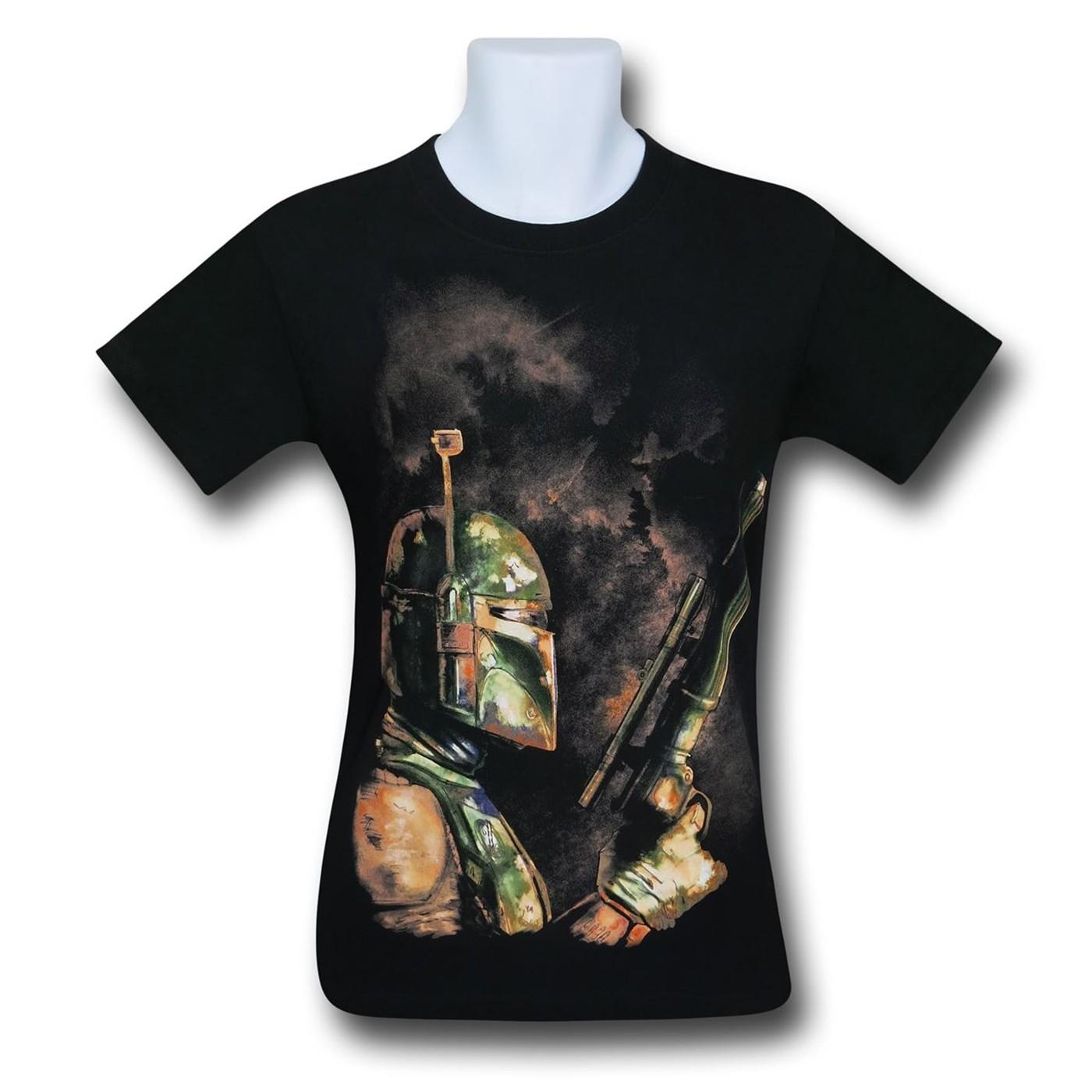 Star Wars Boba Fett Bounty Hunter T-Shirt