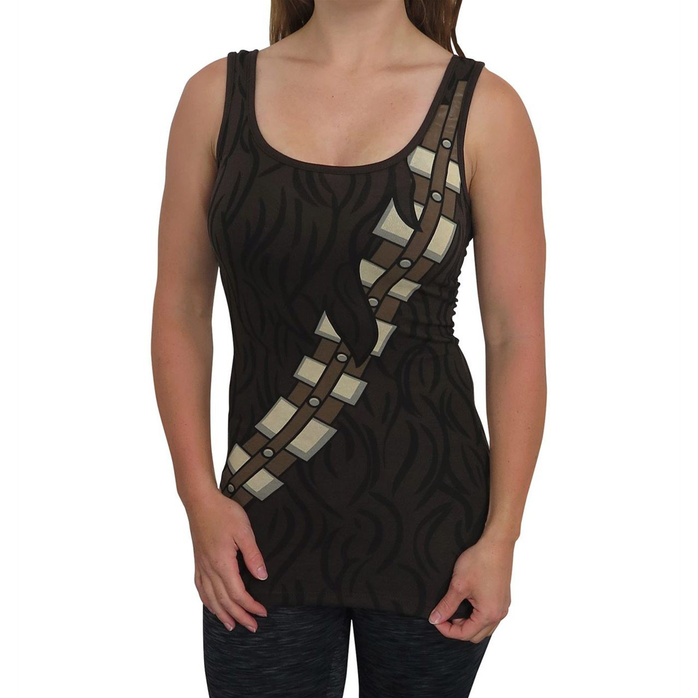 Star Wars Women's Chewbacca Costume Tank Top