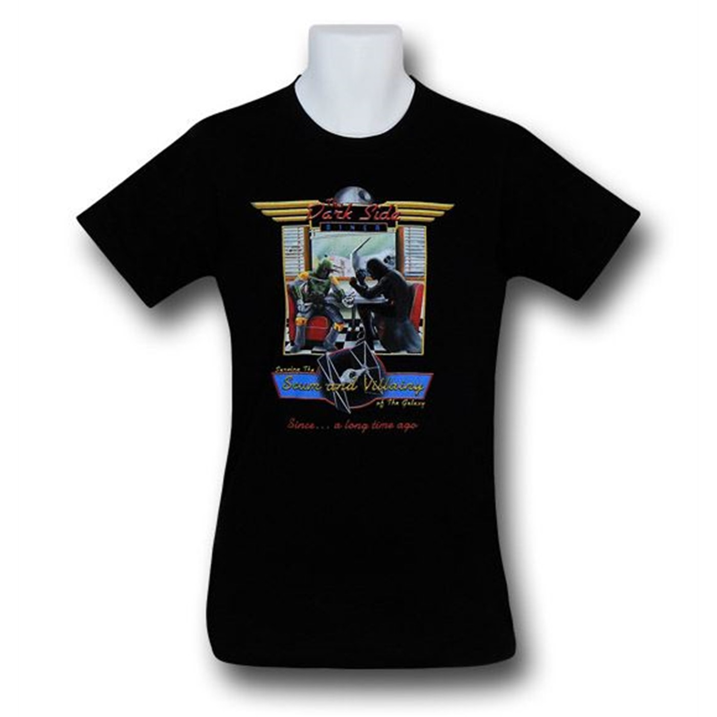 Star Wars Dark Side Diner 30 Single T-Shirt