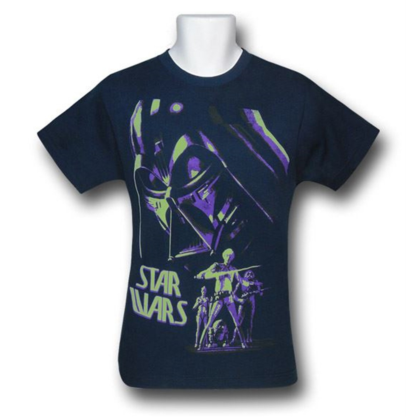Star Wars Vader Kids UV-Ink T-Shirt