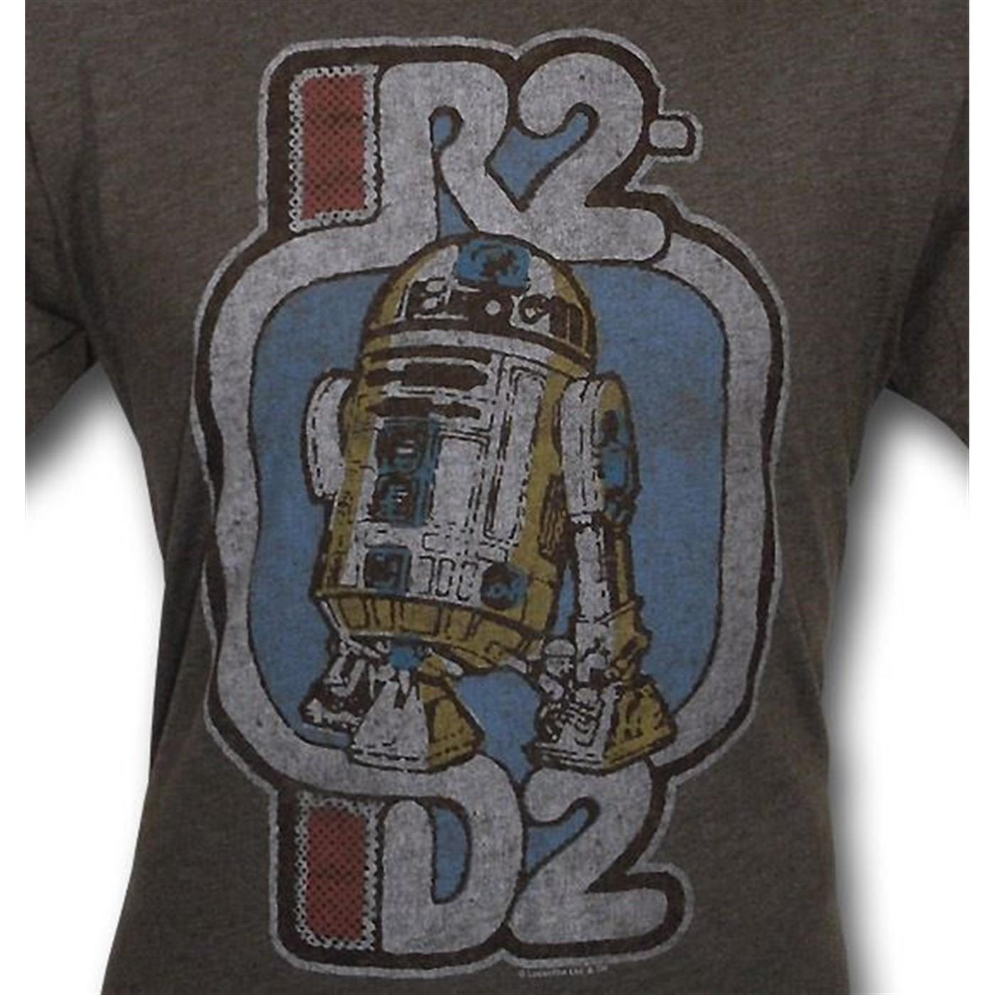 Star Wars R2-D2 Junk Food T-Shirt