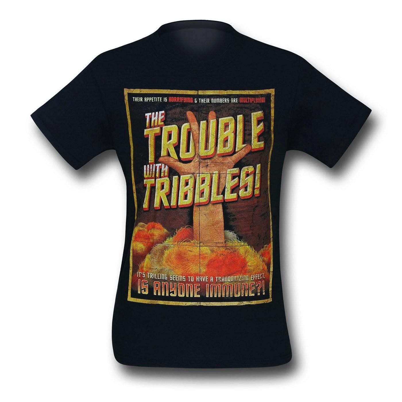 Star Trek Tribbles Movie Poster T-Shirt