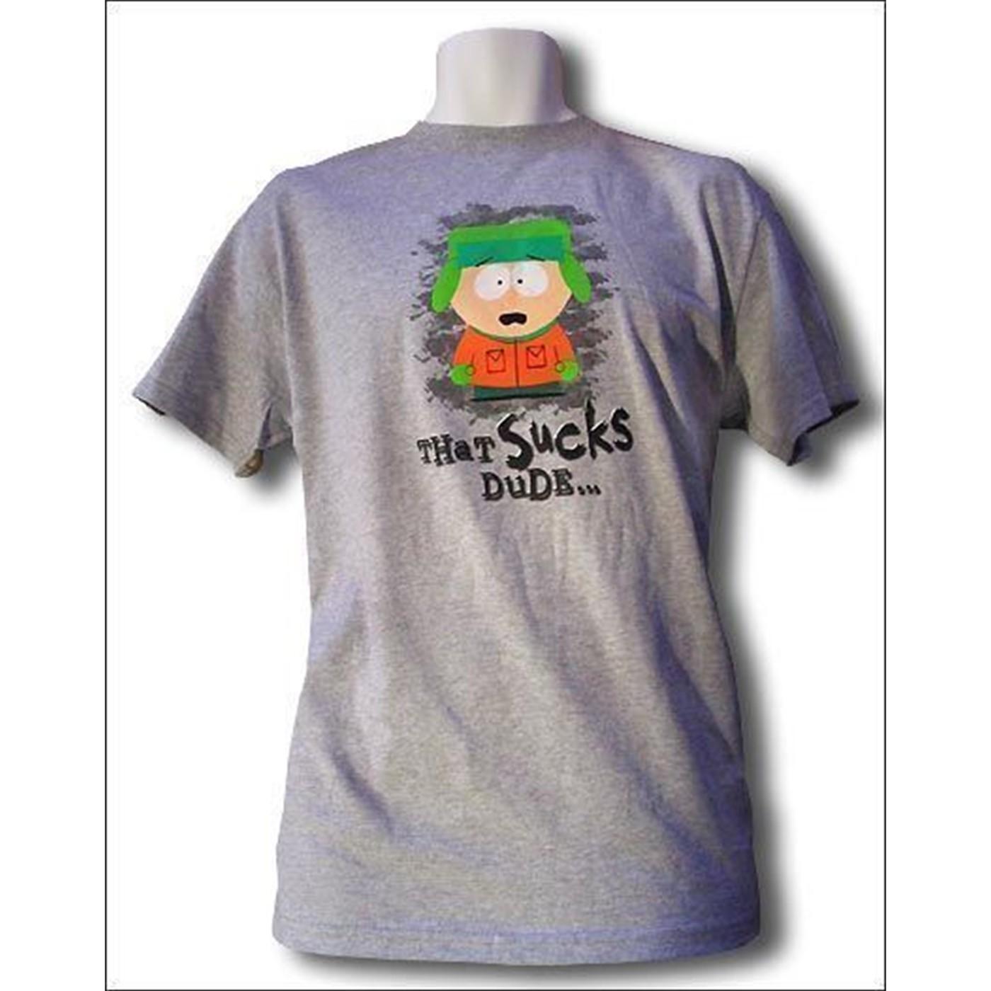 Southpark: That Sucks Dude T-shirt