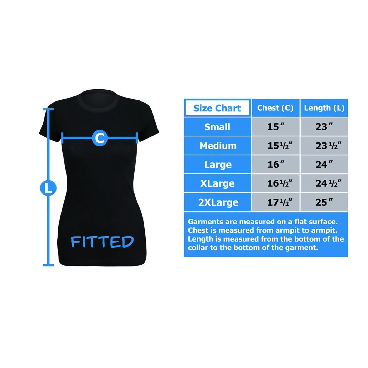 Superman Astronomy Women's T-Shirt