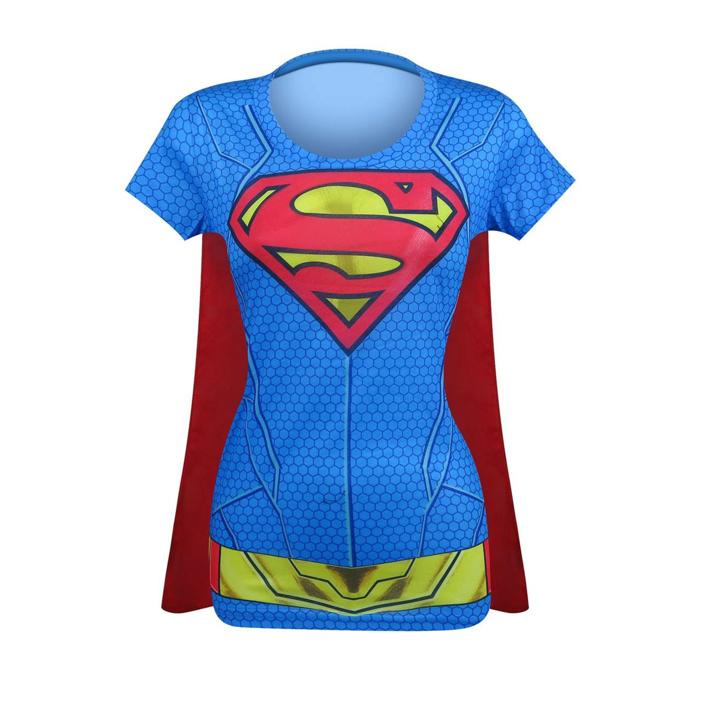Supergirl Suit Up Women's Costume T-Shirt