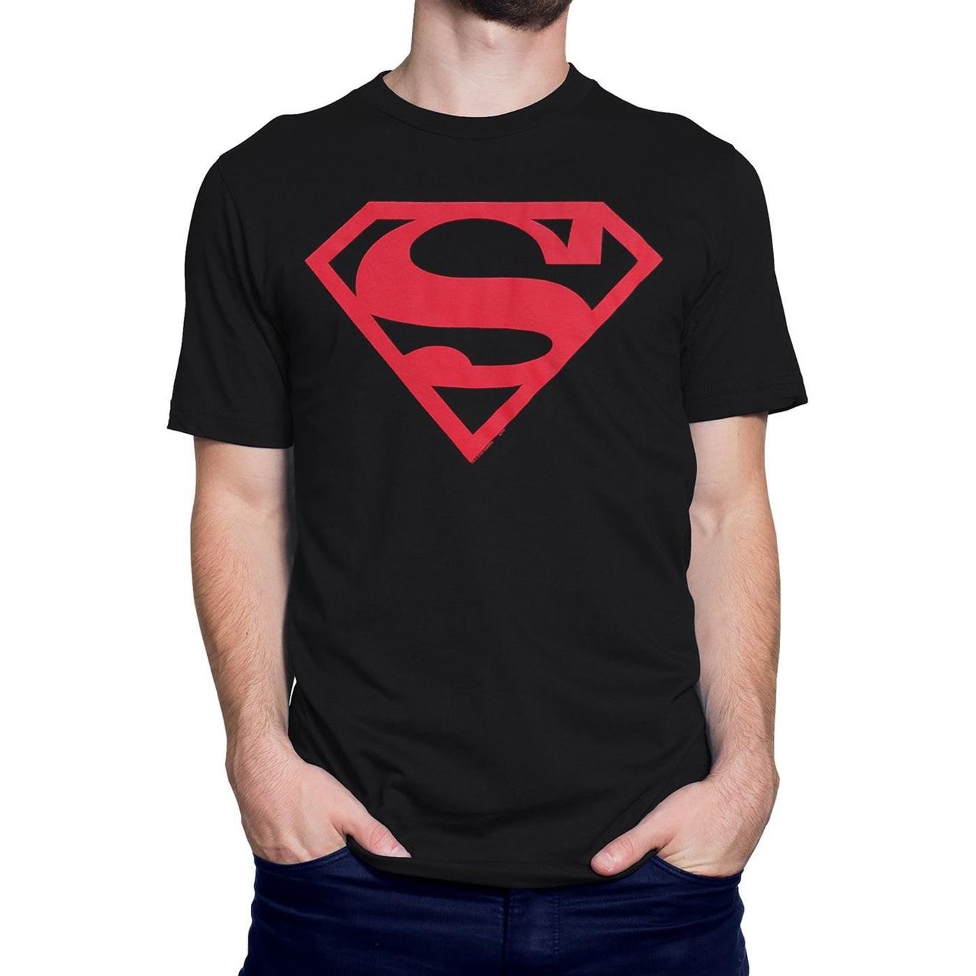 Best Superboy Red Symbol T-Shirt