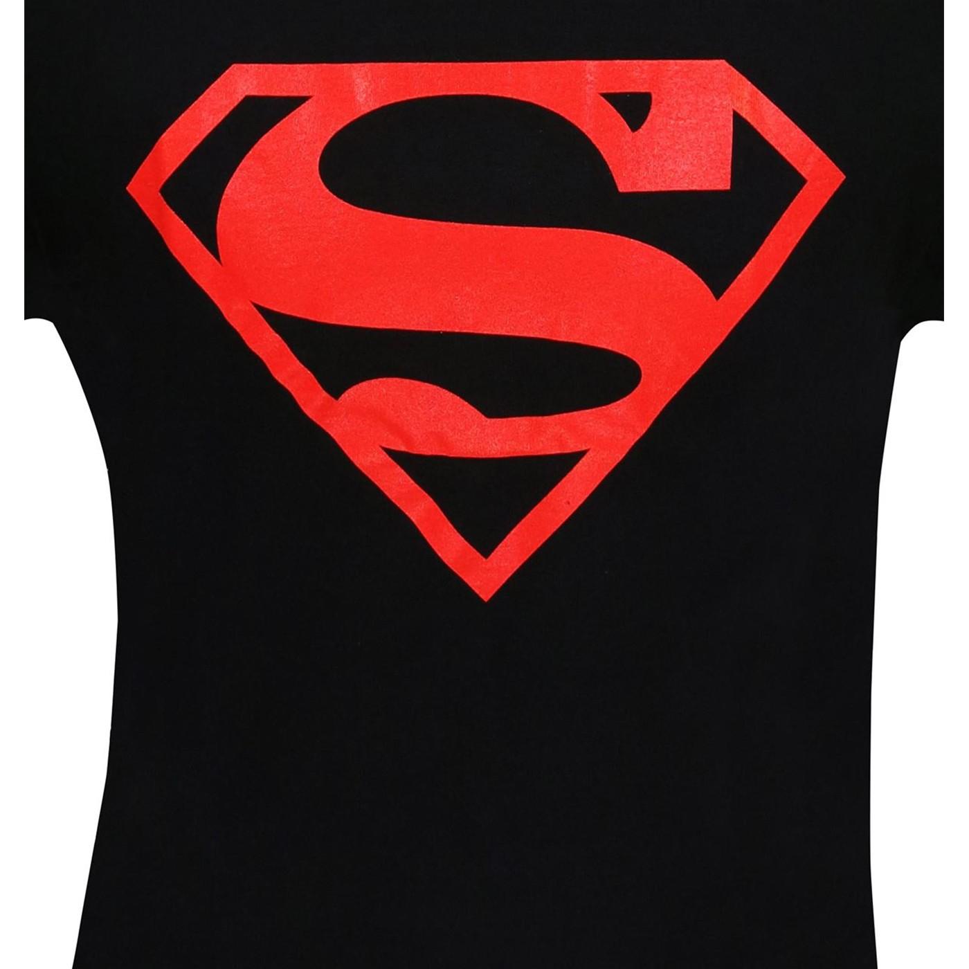 Superboy Red Symbol T-Shirt