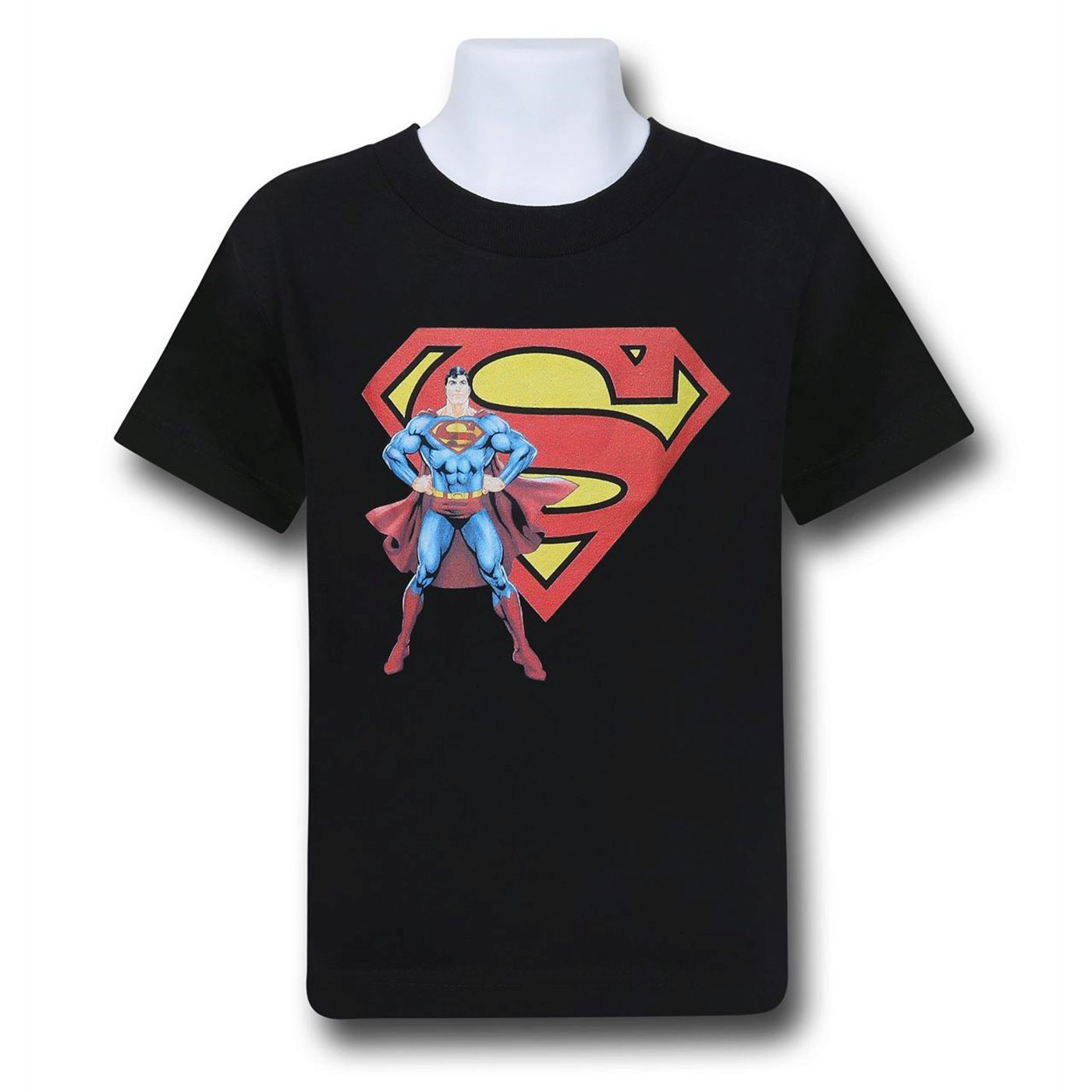 Superman Stance and Symbol Kids T-Shirt