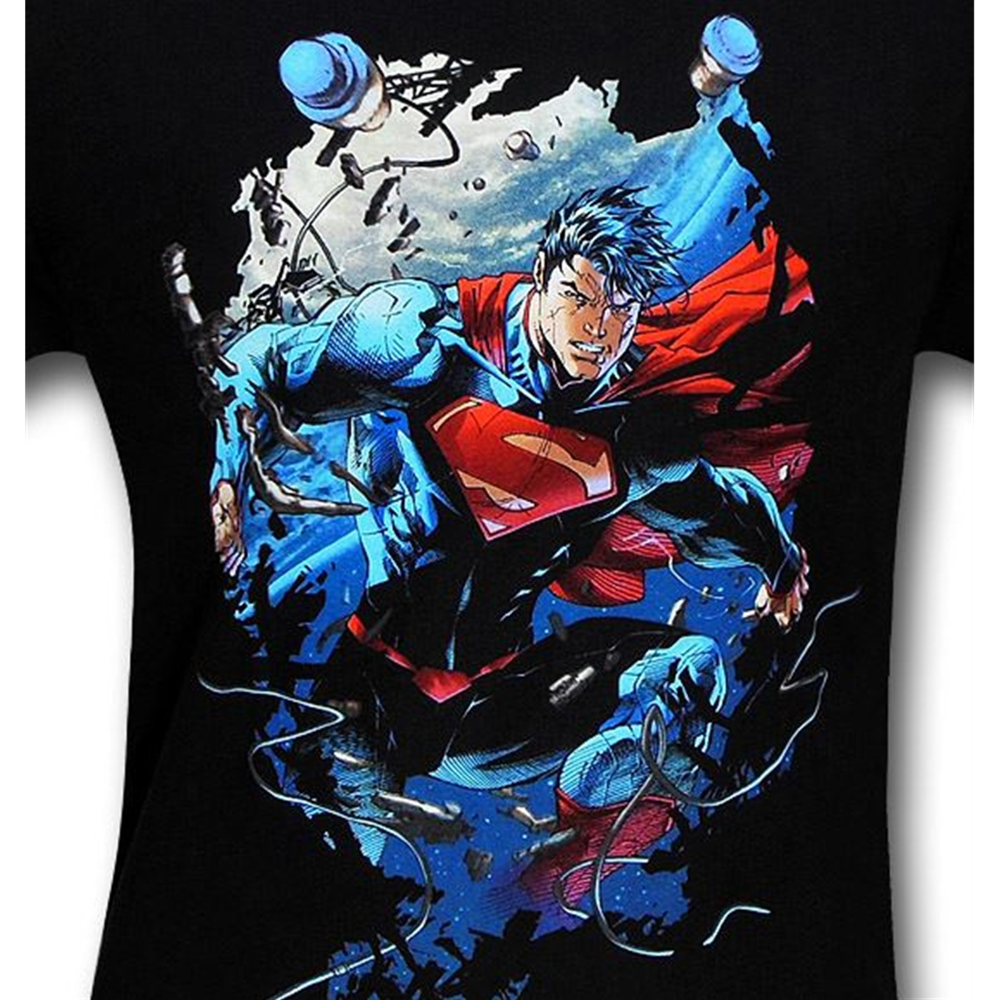 Superman Unchained by Jim Lee T-Shirt