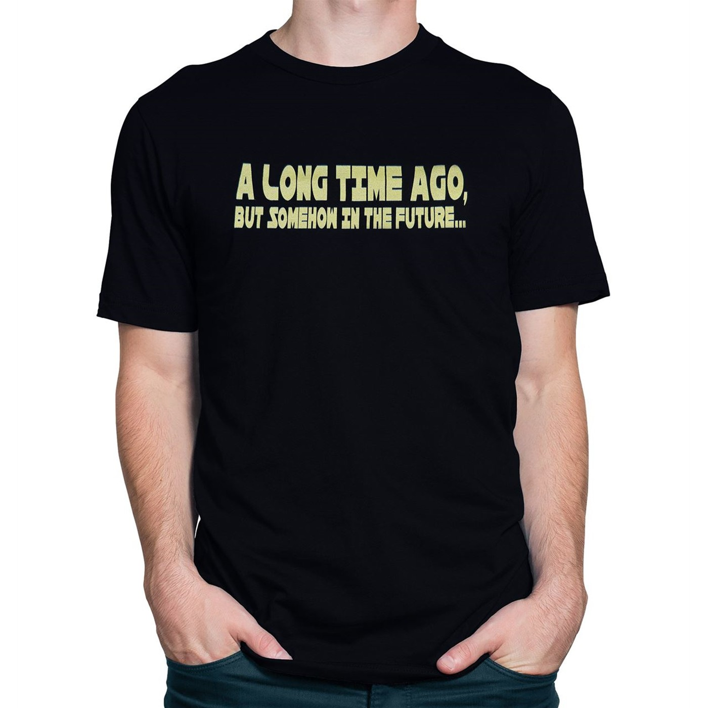 Long Time Ago but Somehow in the Future Men's T-Shirt