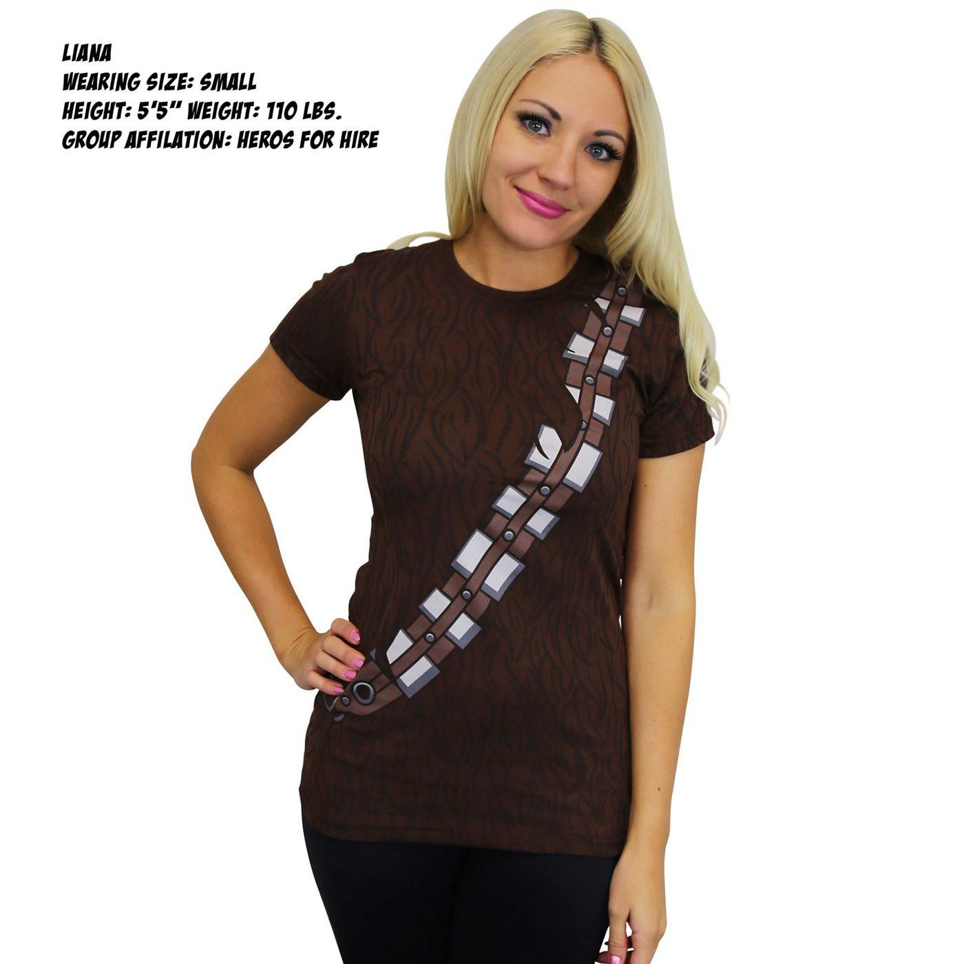 Star Wars Chewbacca Costume Women's T-Shirt