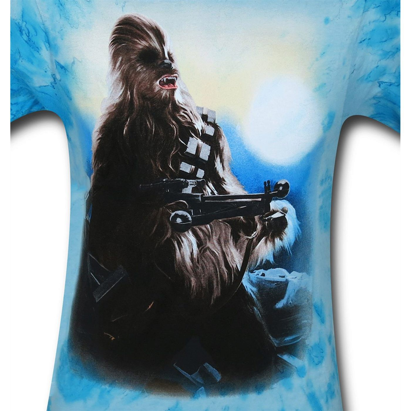 Star Wars Chewbacca Tie Dye Men's T-Shirt