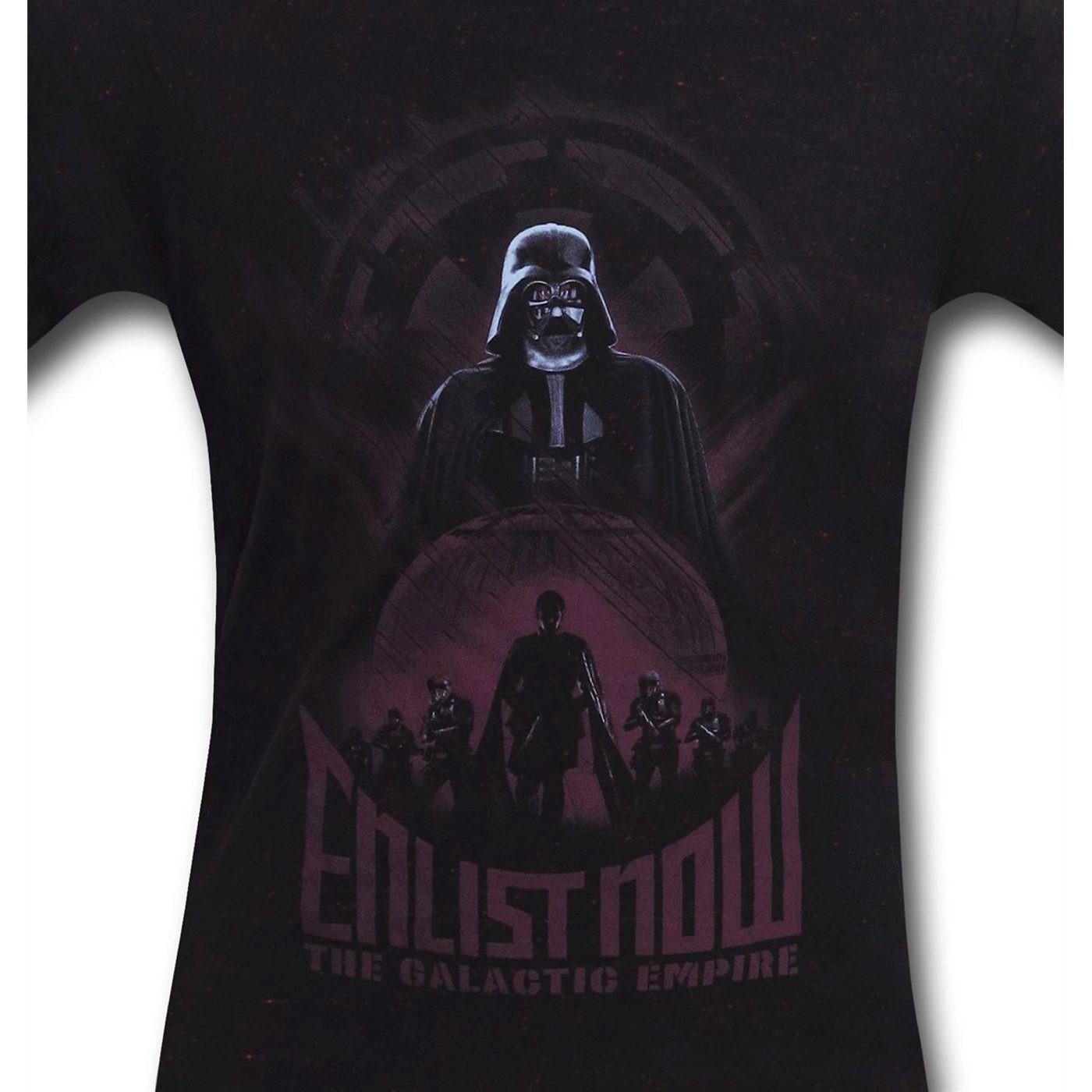 Star Wars Enlist Now Men's T-Shirt