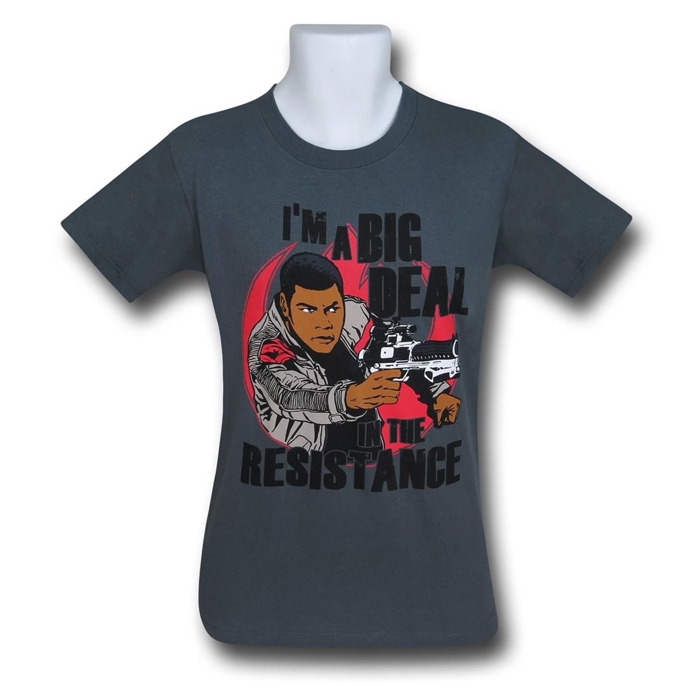 Star Wars Force Awakens Finn Resistance T-Shirt