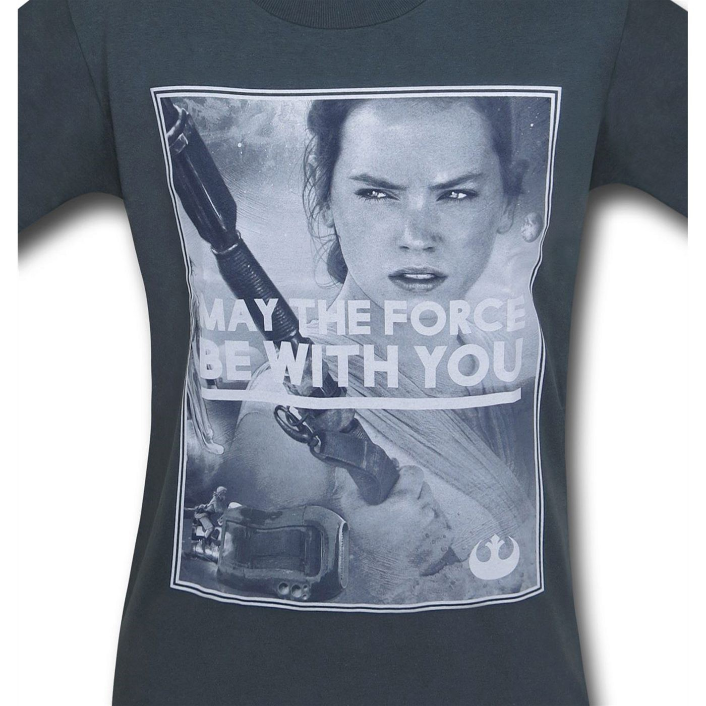 Star Wars Force Awakens Rey May the Force T-Shirt