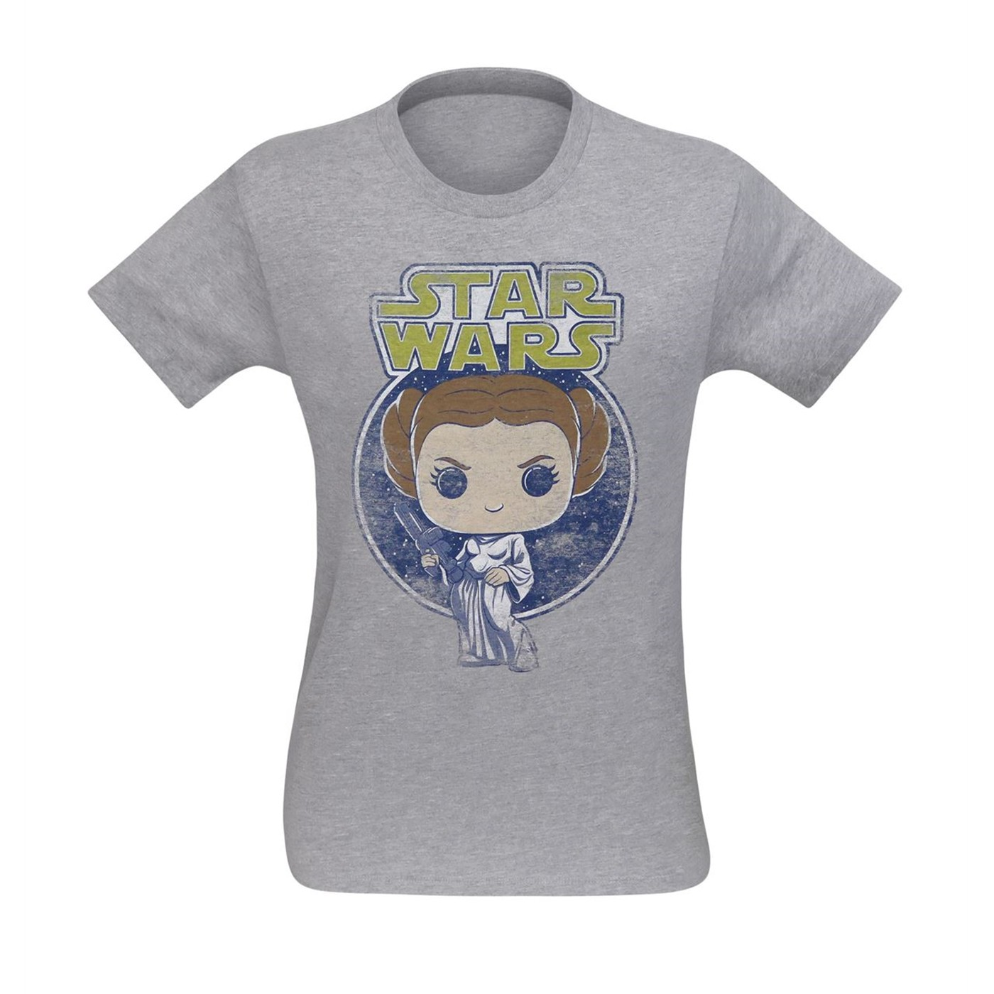 Funko Pop Star Wars Princess Leia Men's T-Shirt