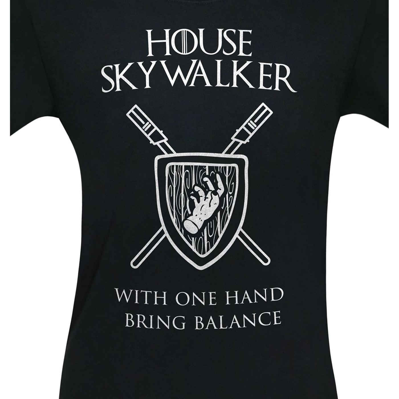 House Skywalker One Hand Bring Balance Men's T-Shirt