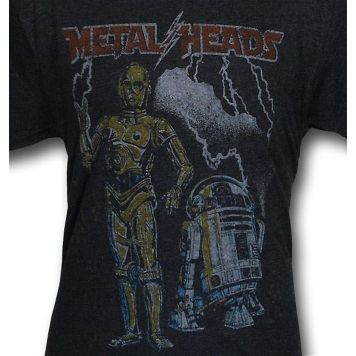 Star Wars Metal Heads Junk Food Triblend T-Shirt