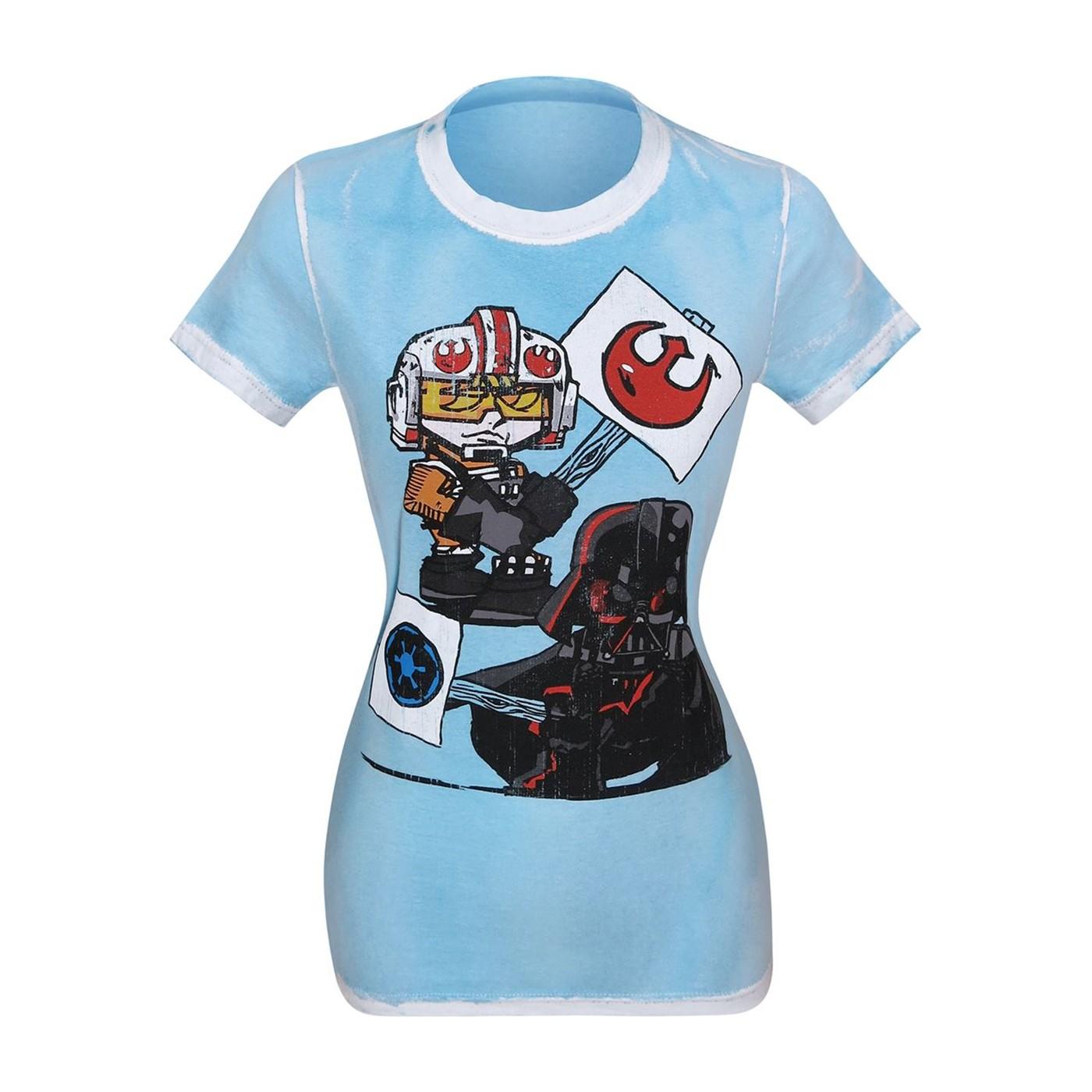 Star Wars Picket Signs Women's T-Shirt