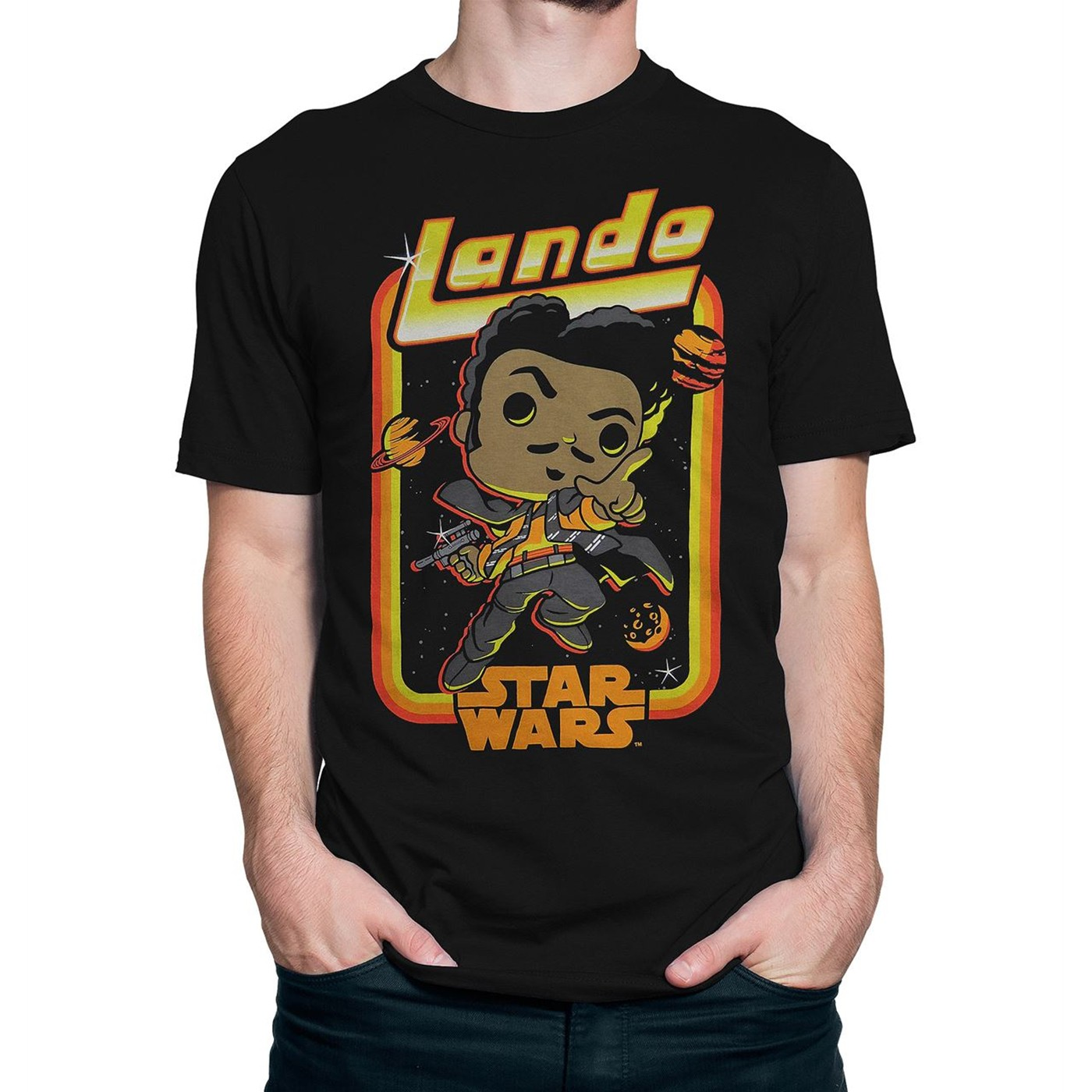 Funko Pop! Star Wars Solo Lando Men's T-Shirt