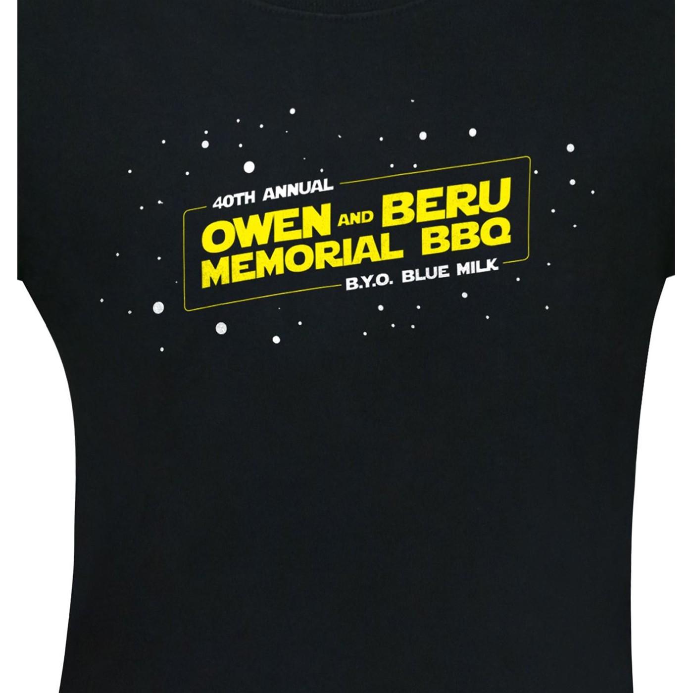 Uncle Owen and Aunt Beru 40th BBQ Men's T-Shirt