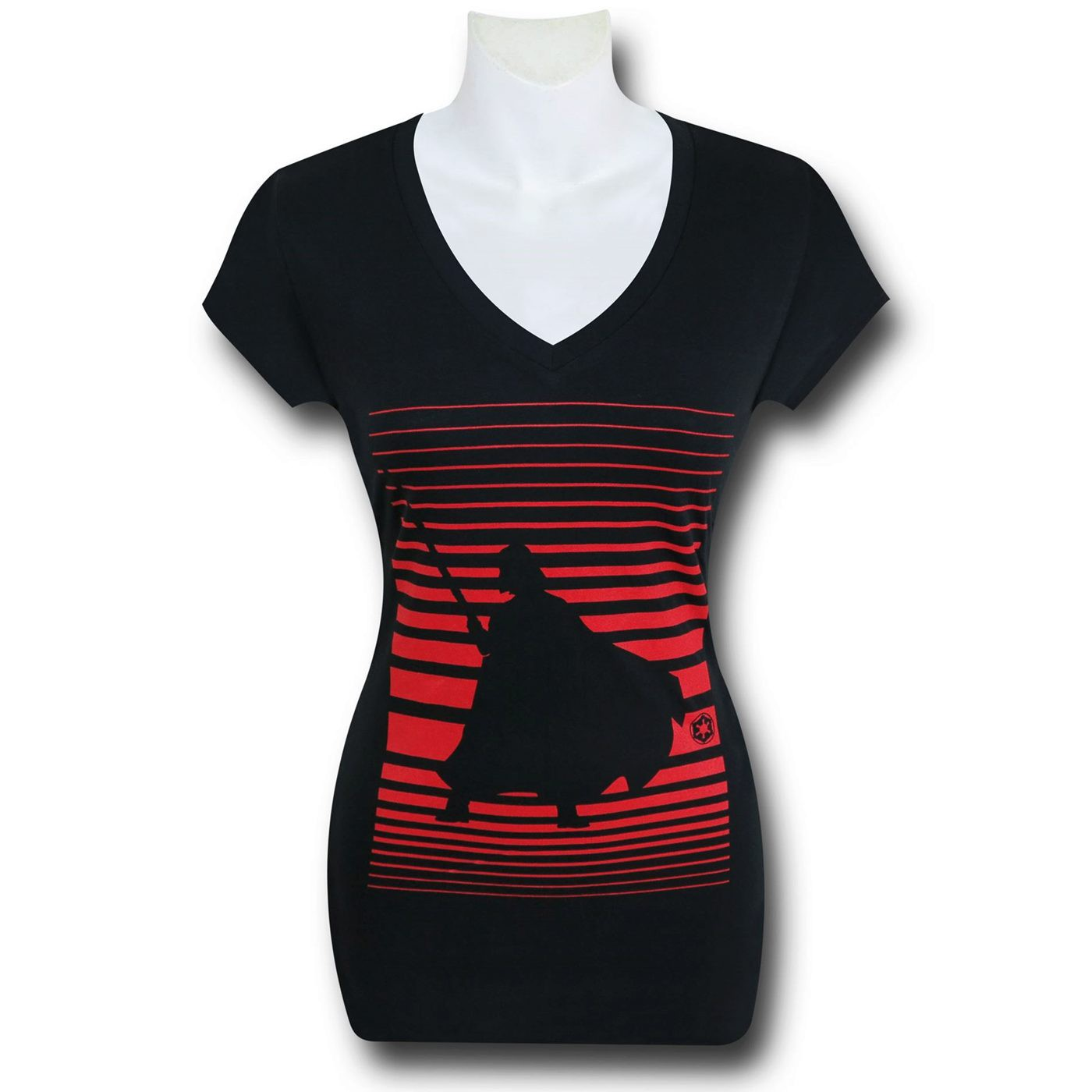 Star Wars Vader Vision Women's V-Neck T-Shirt