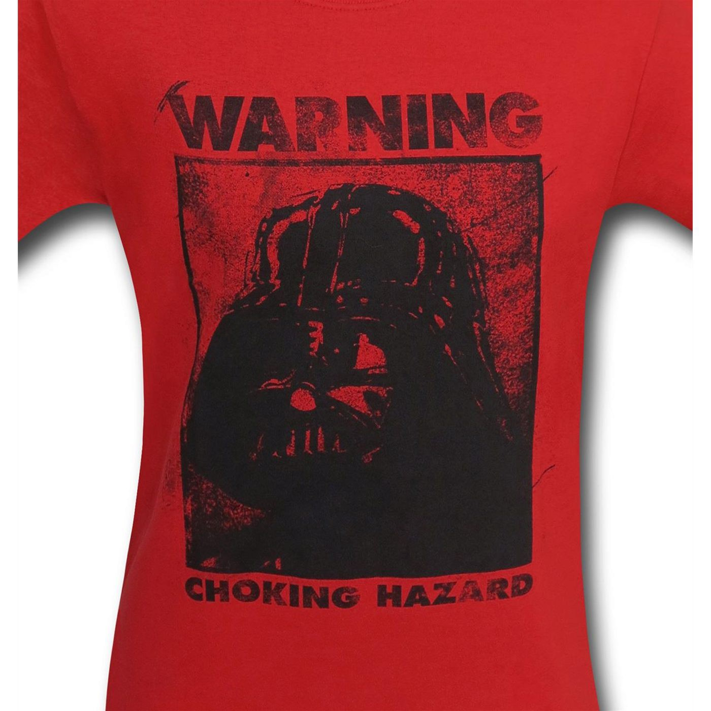 Star Wars Darth Vader Warning Men's T-Shirt