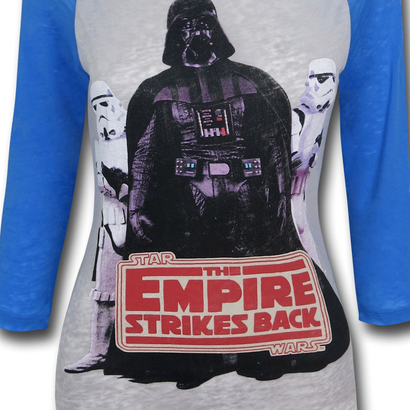 Star Wars Vader Troopers Women's Baseball T-Shirt
