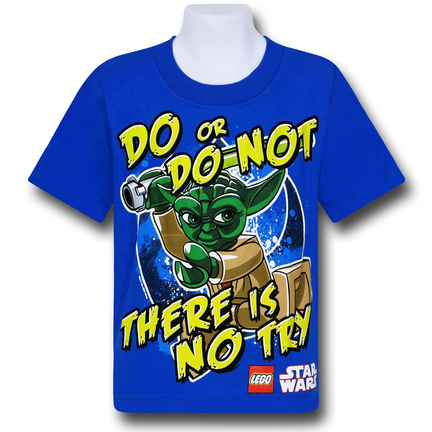 Star Wars Lego Yoda No Try Kids T-Shirt