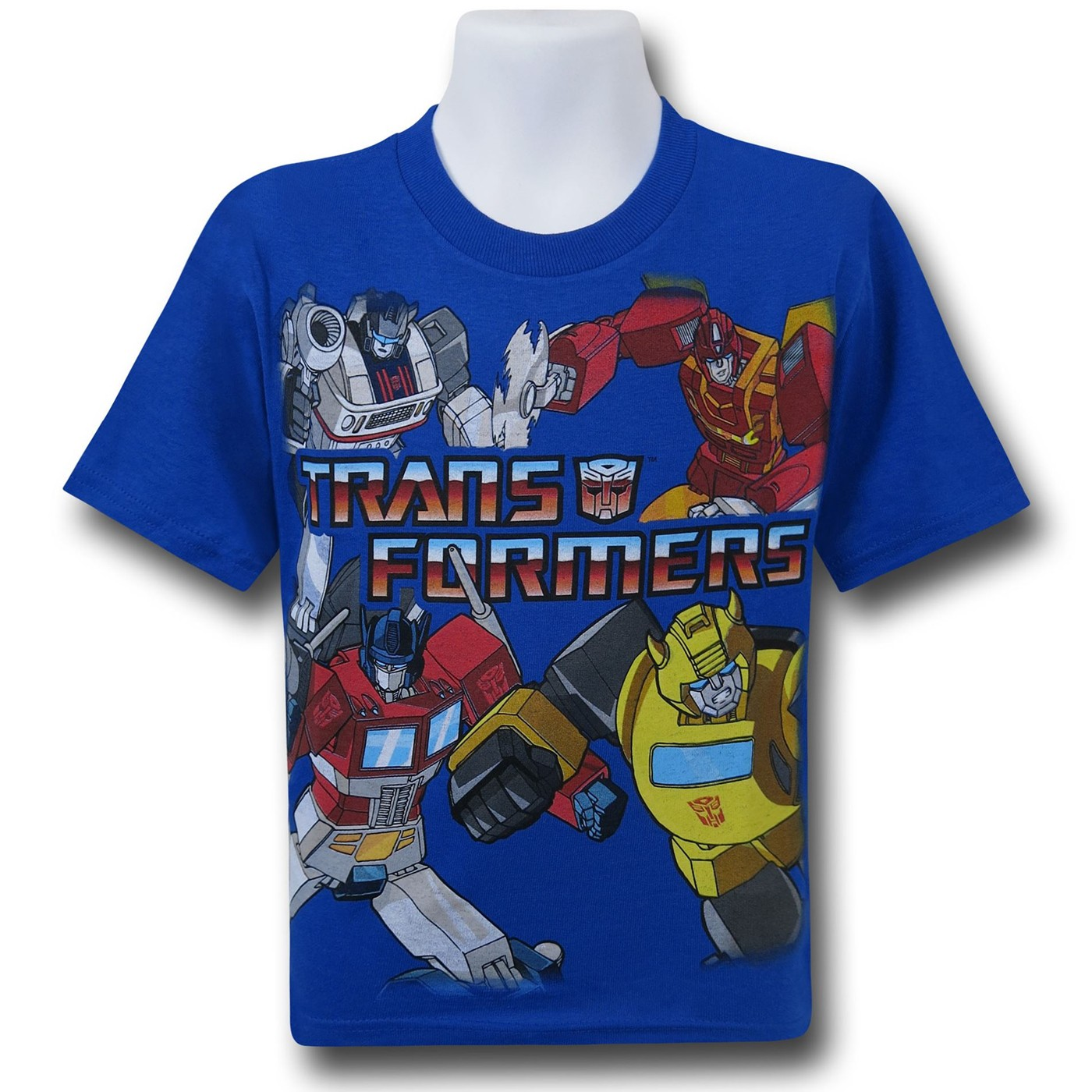 Transformers Collage Kids T-Shirt