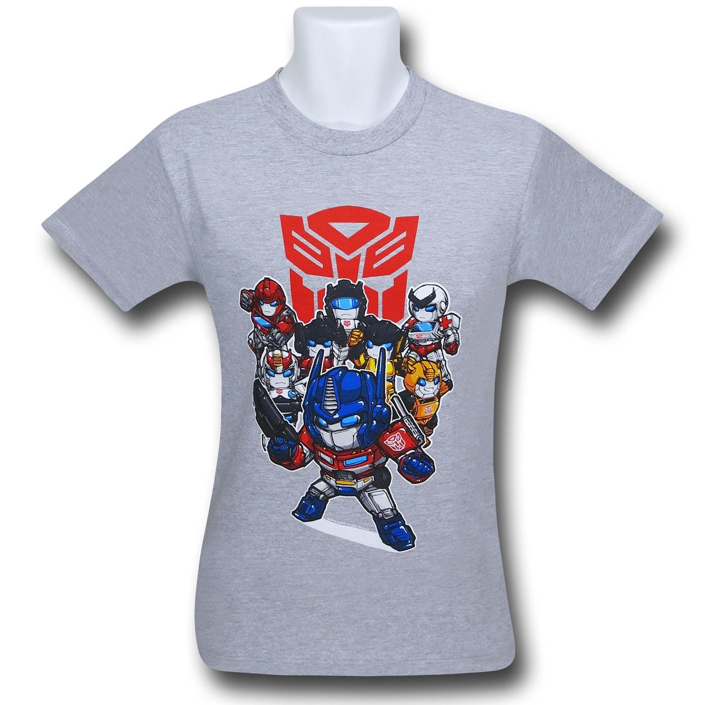 Transformers Deformers Grey 30 Single T-Shirt