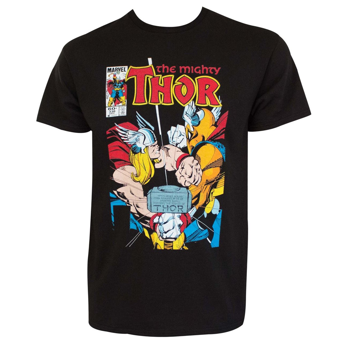 The Mighty Thor #338 A Fool and His Hammer Men's T-Shirt