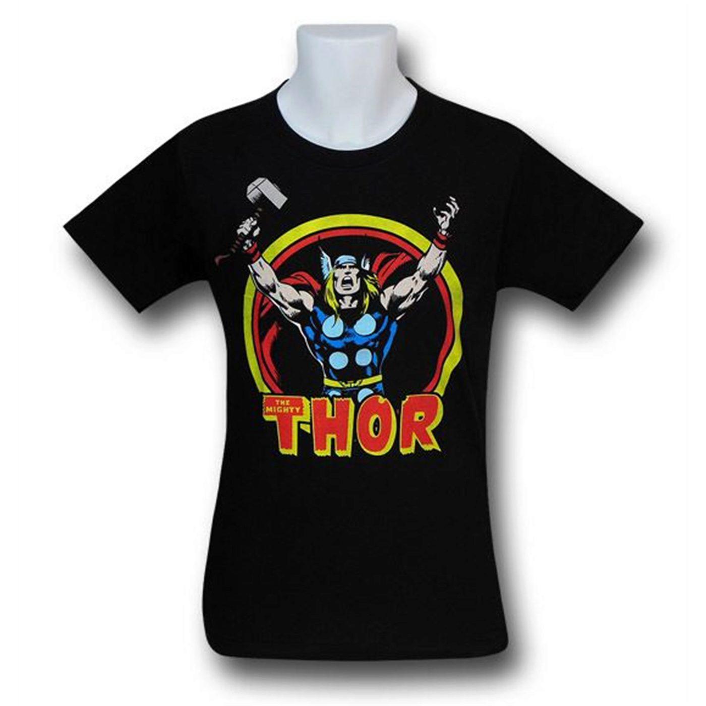 Thor Arms Raised 30 Single T-Shirt
