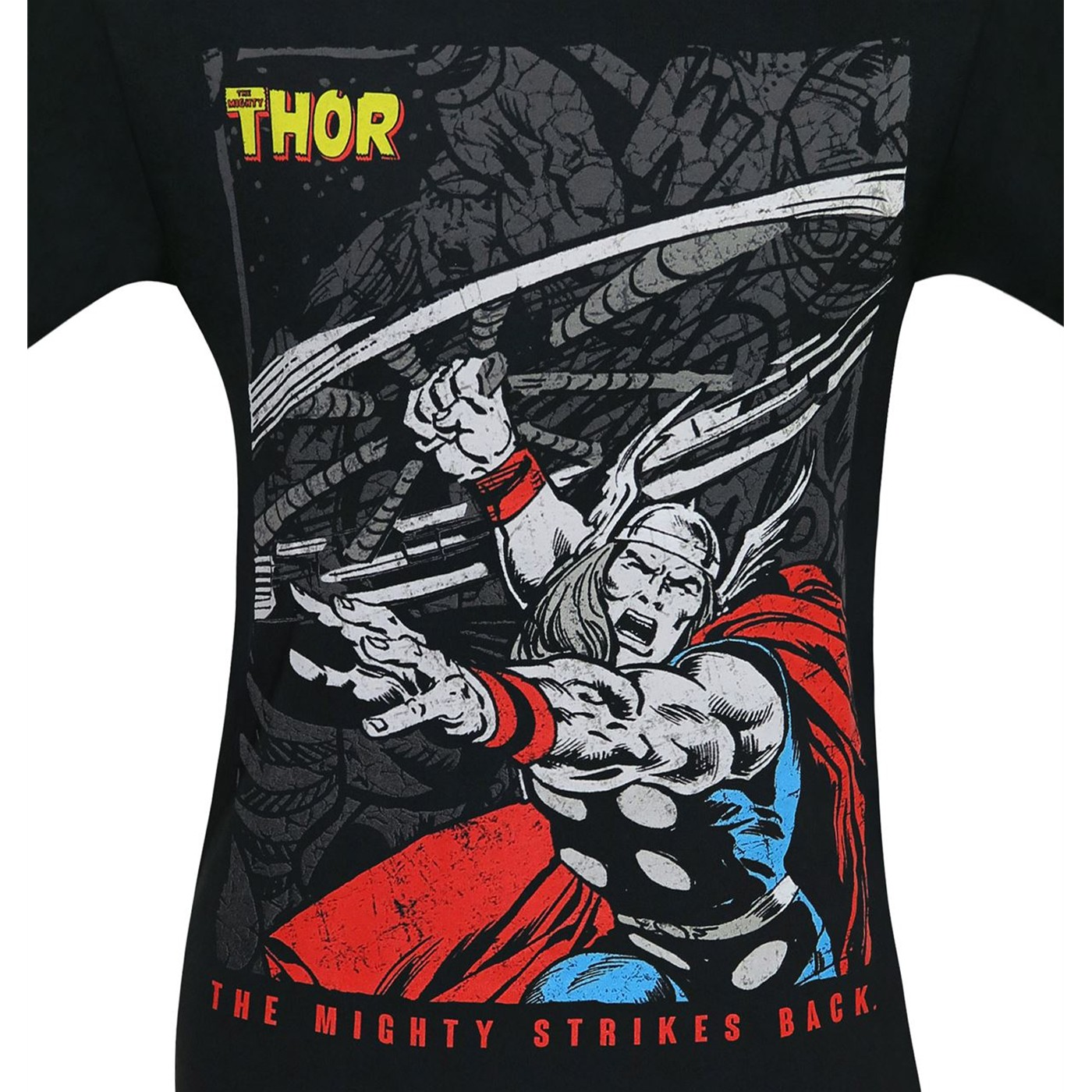 The Mighty Thor Mjolnir Whirlwind Men's T-Shirt