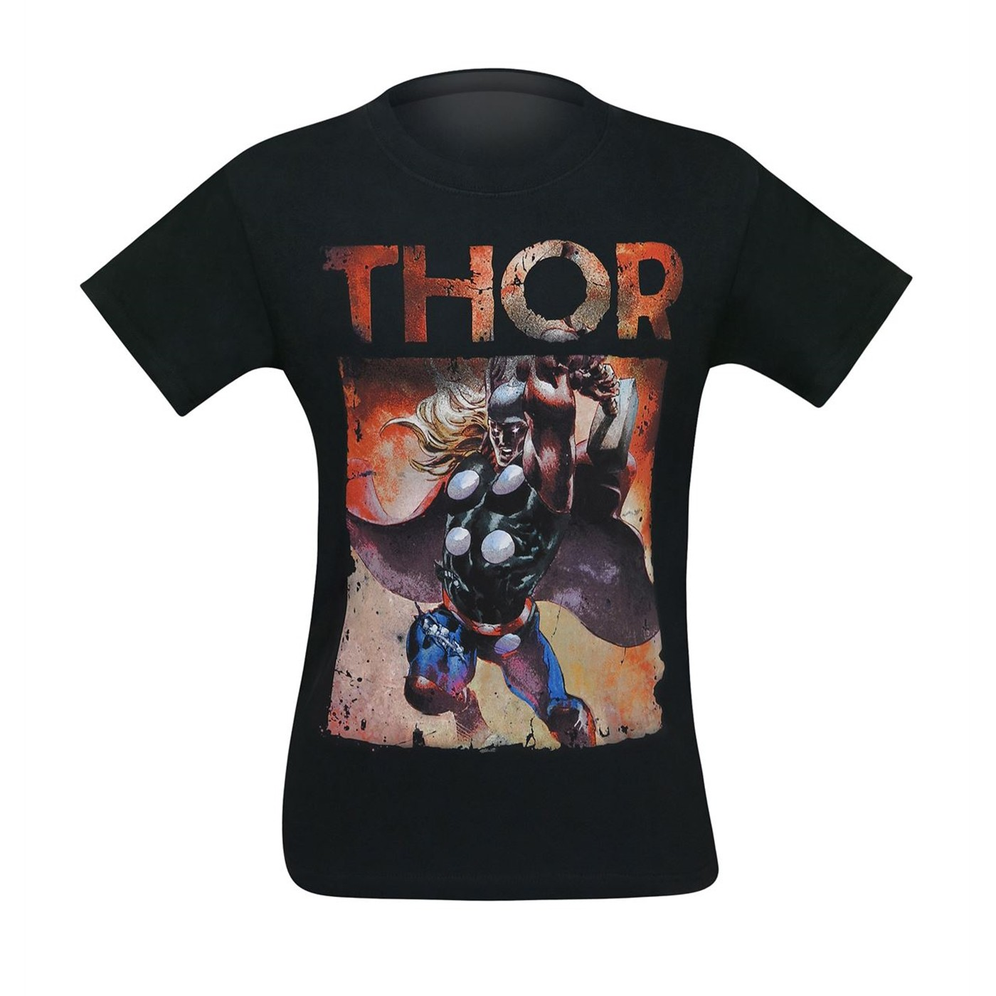 Thor Raging Thunder God Men's T-Shirt