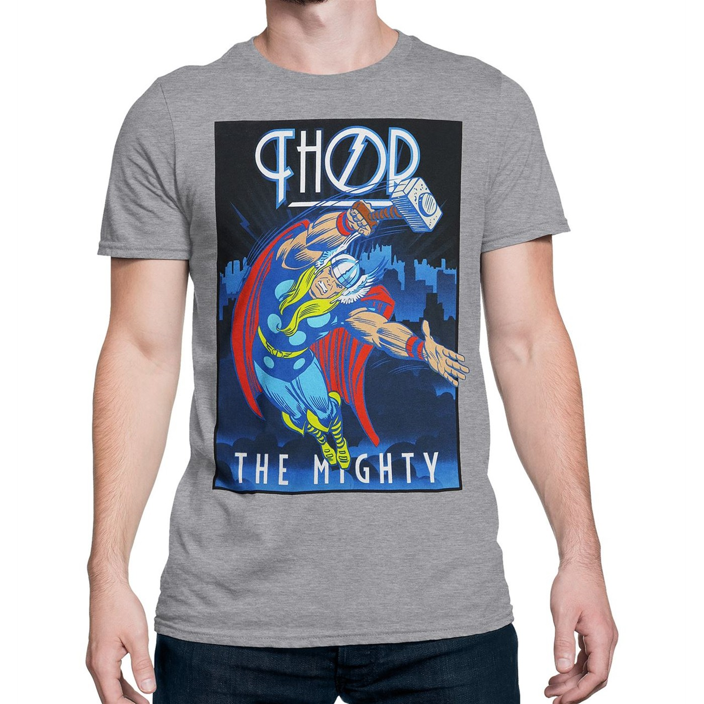 Thor Roaring Thunder Men's T-Shirt