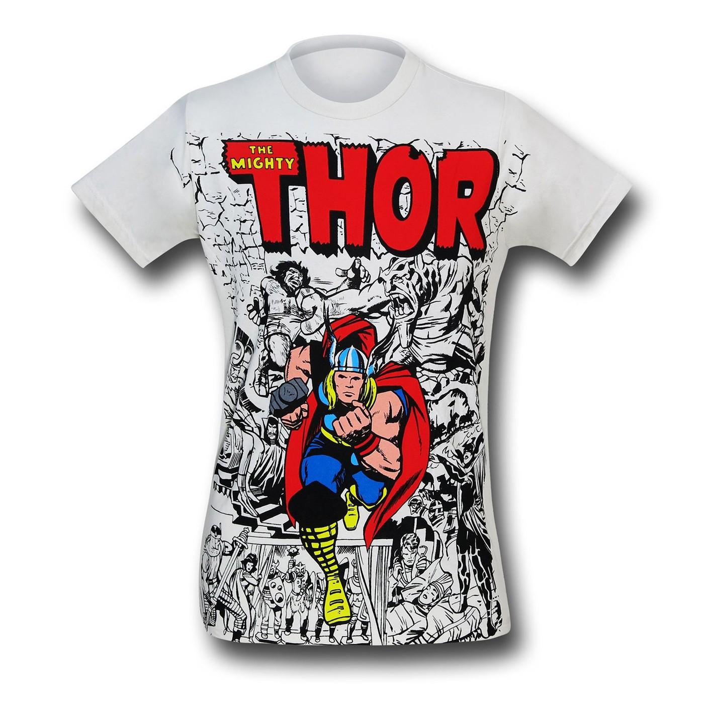 Thor #154 Cover Tri-Blend T-Shirt